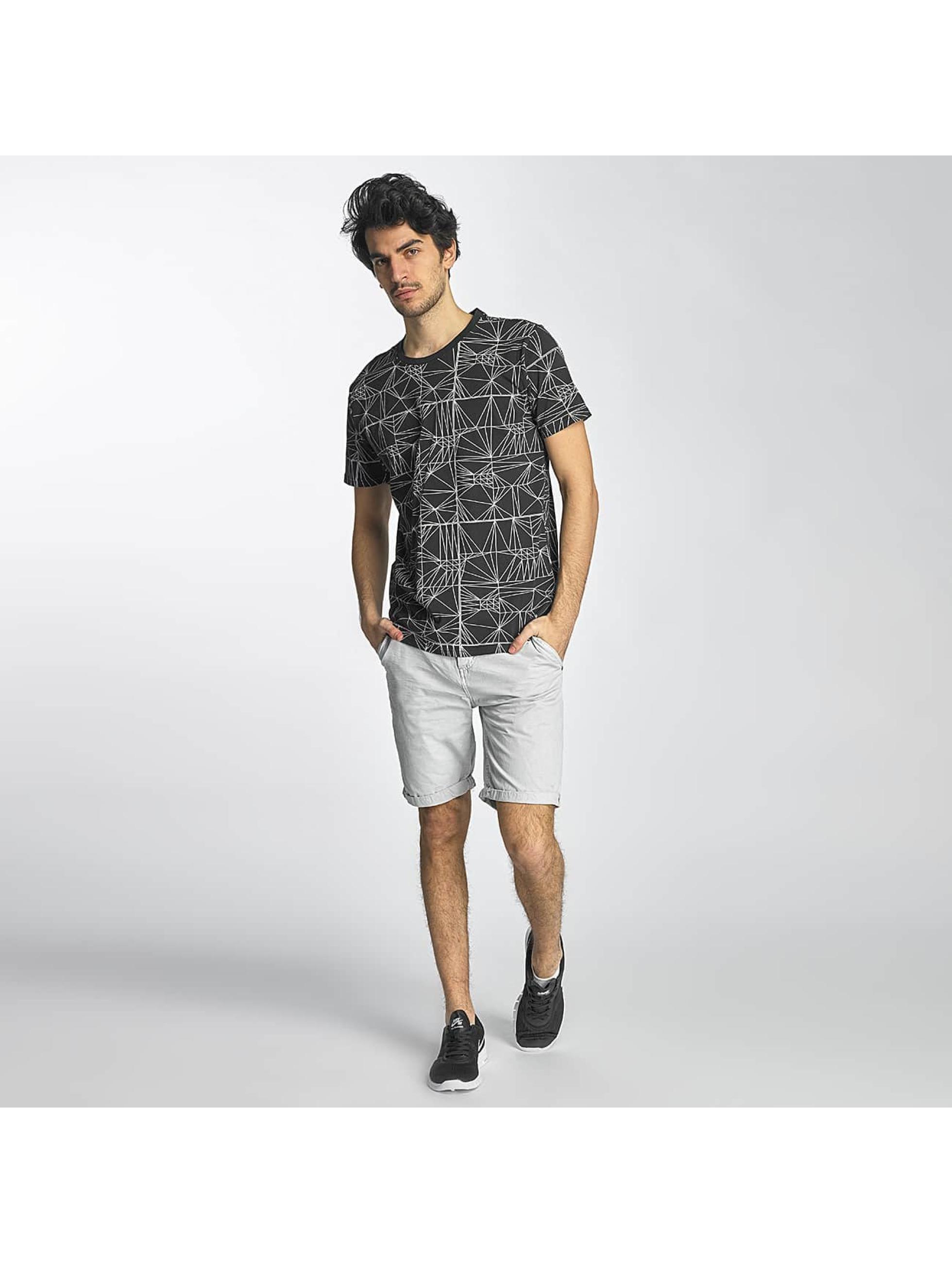 SHINE Original T-shirts Stripes sort