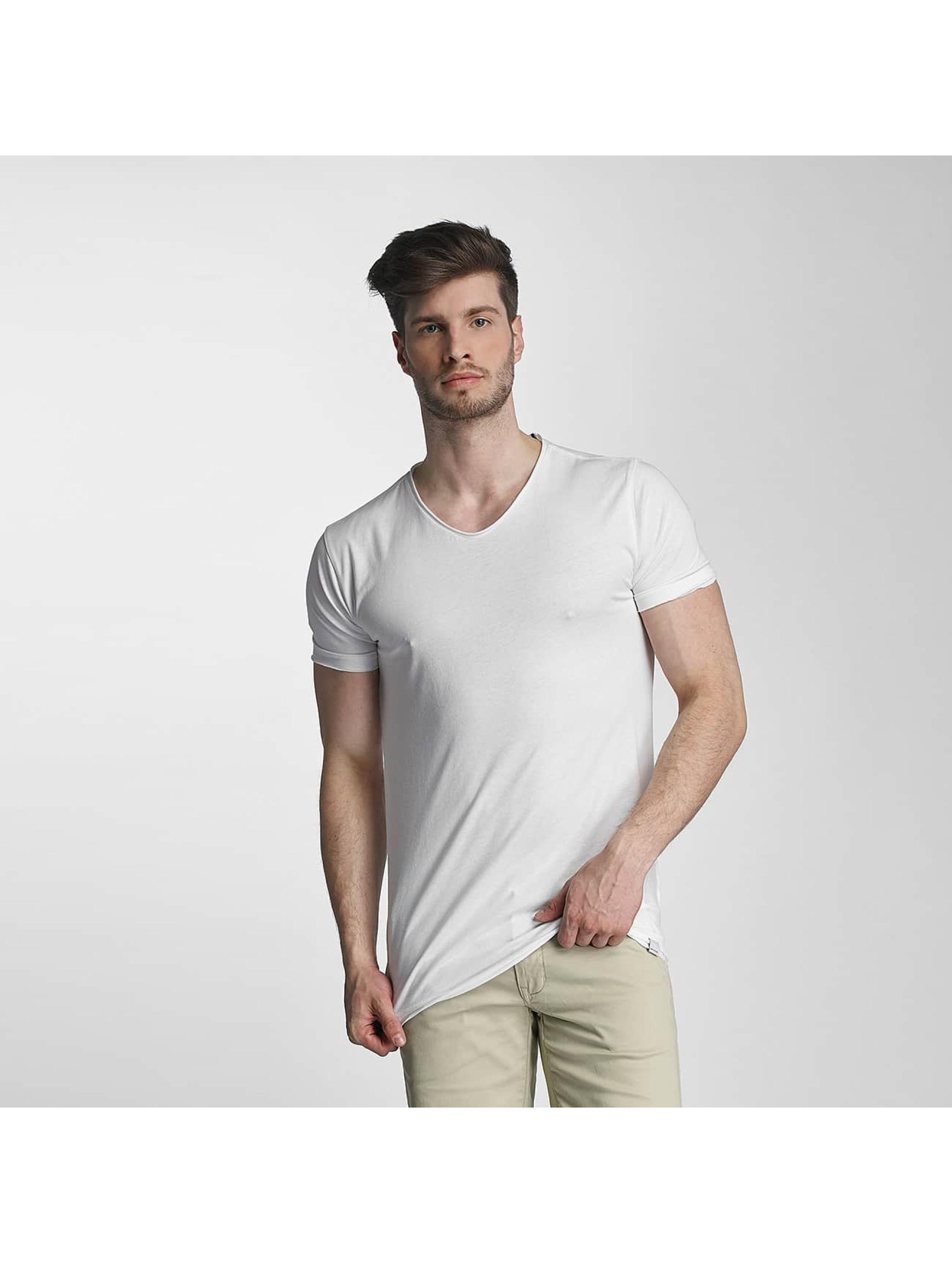SHINE Original T-Shirty Mélange bialy