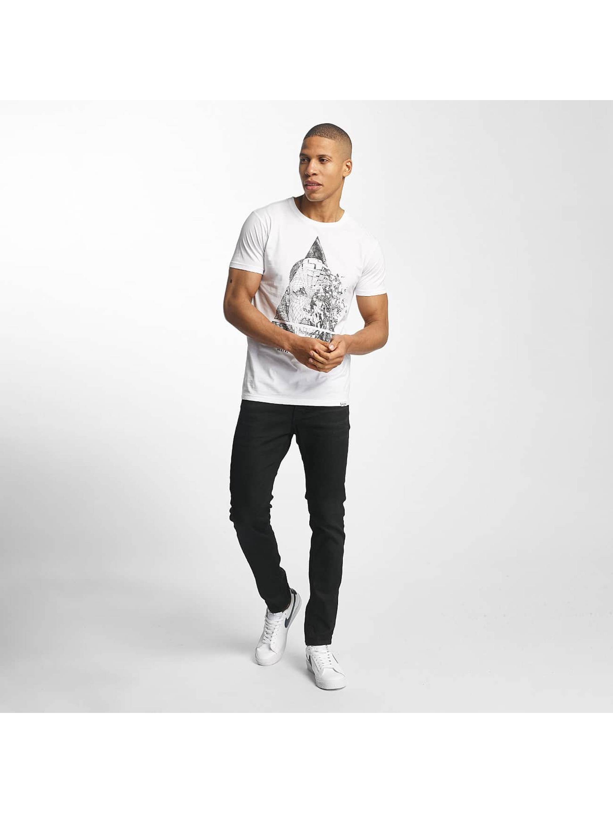 SHINE Original T-Shirty August Graphic bialy