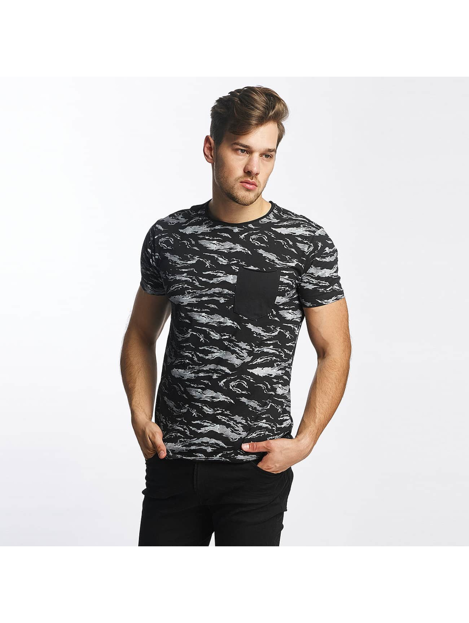 SHINE Original T-Shirty All Over Print czarny