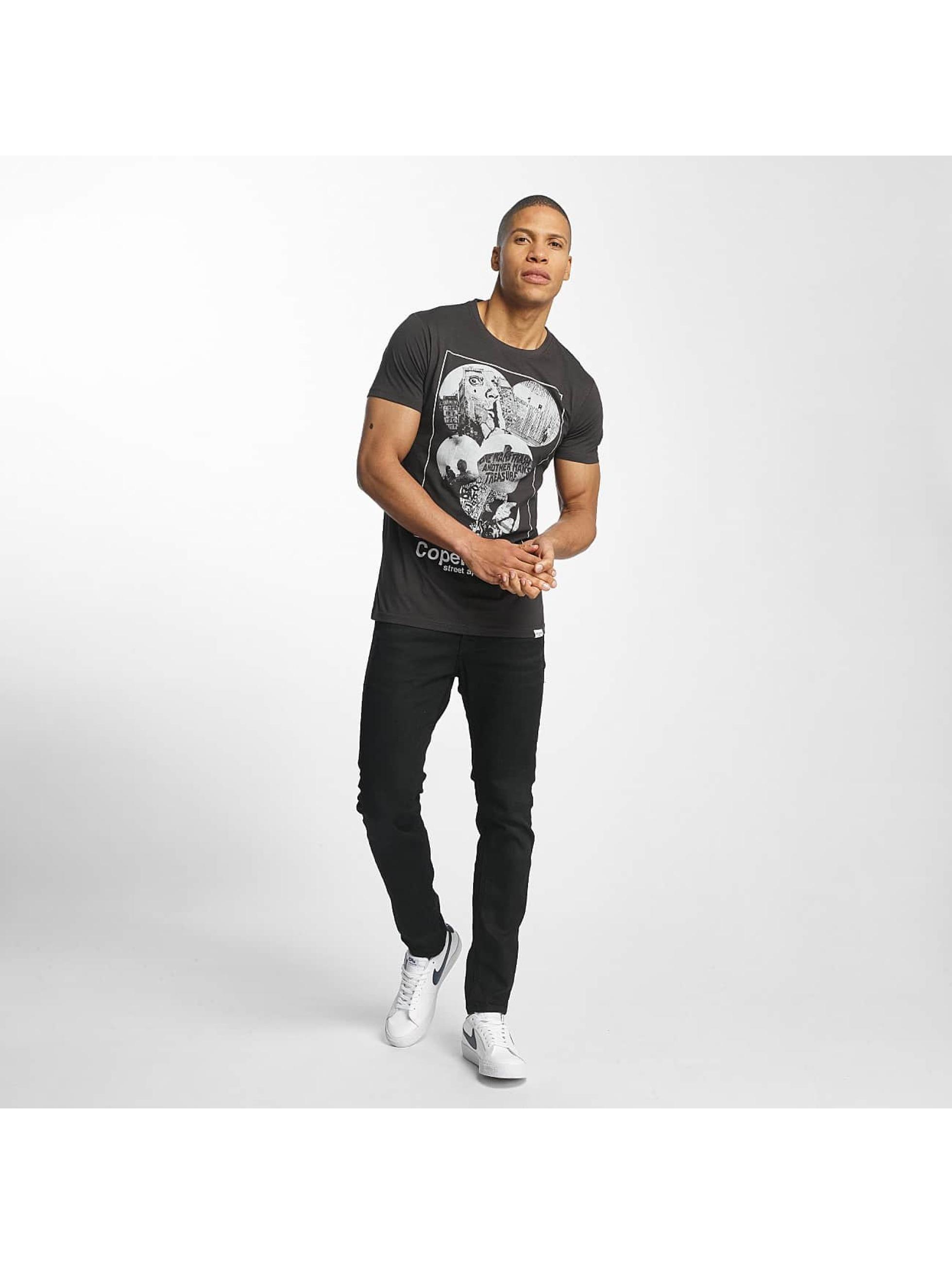 SHINE Original T-Shirty Barret Photo Print czarny