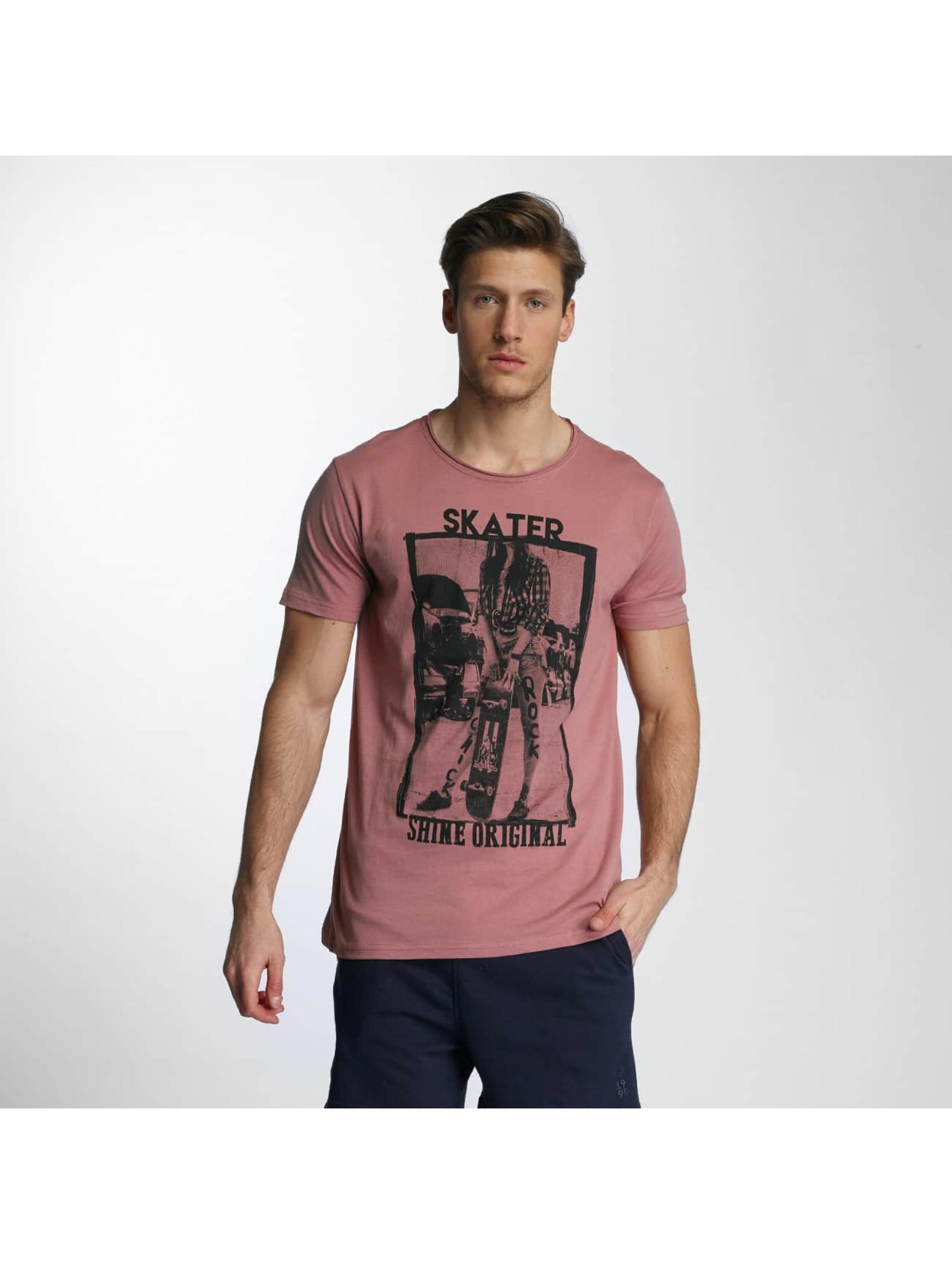 SHINE Original T-Shirty Skater rózowy