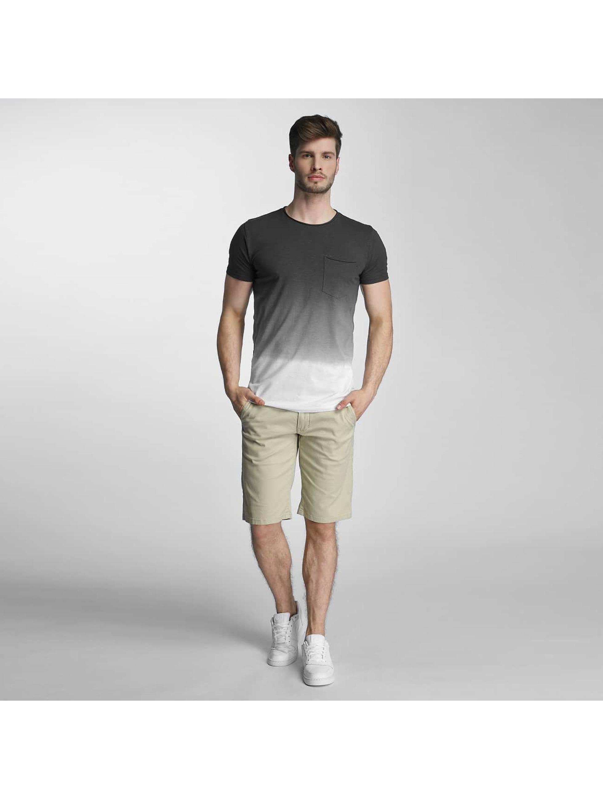 SHINE Original T-Shirty Dip Dyed szary