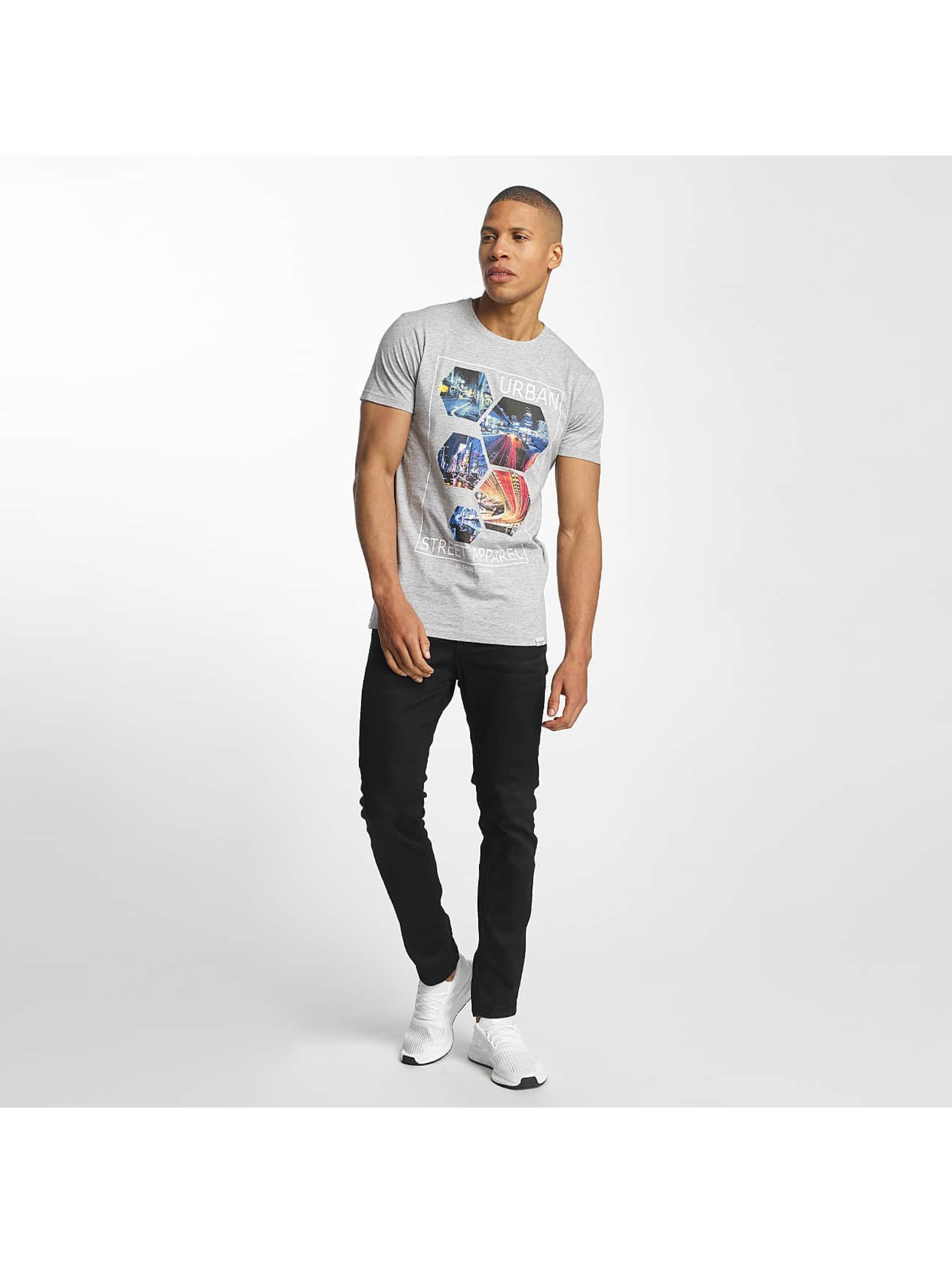 SHINE Original T-Shirty Barret Photo Print szary
