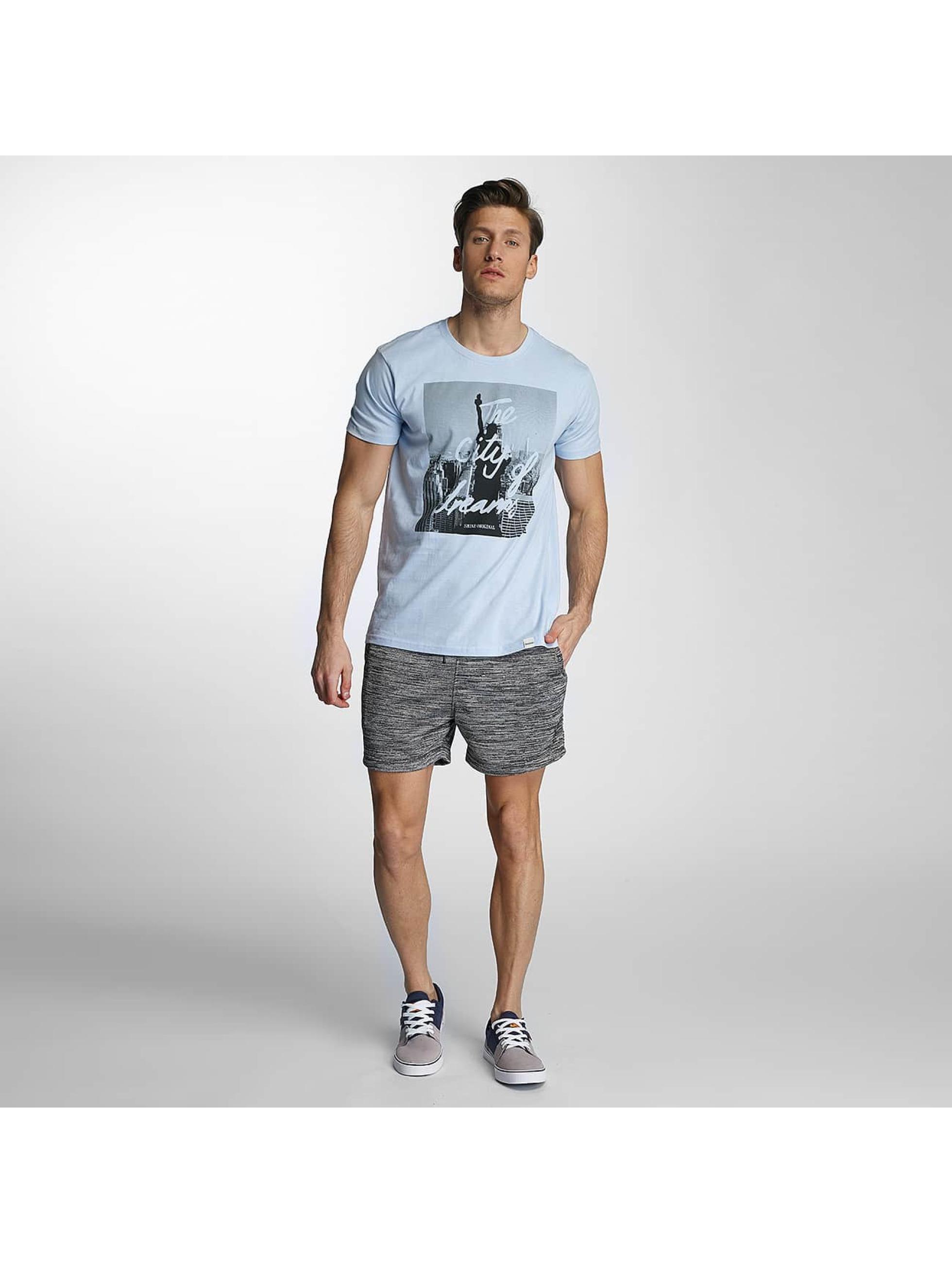 SHINE Original T-skjorter City Lane blå