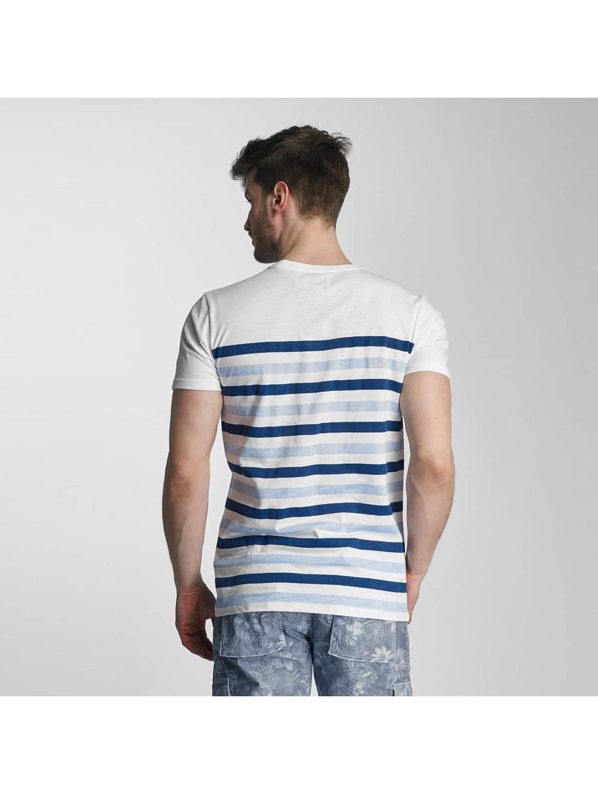 SHINE Original T-skjorter Striped blå