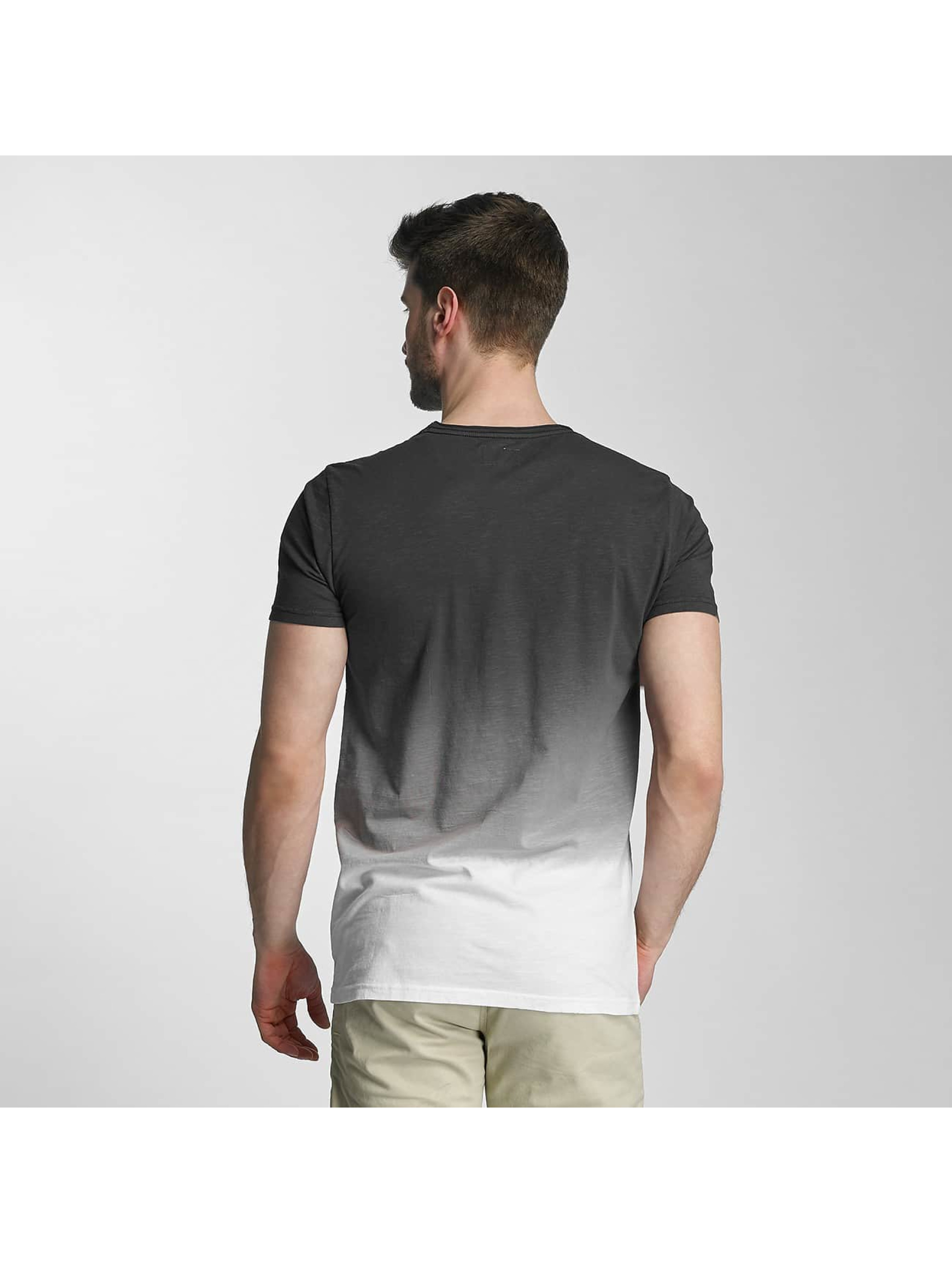 SHINE Original T-skjorter Dip Dyed grå