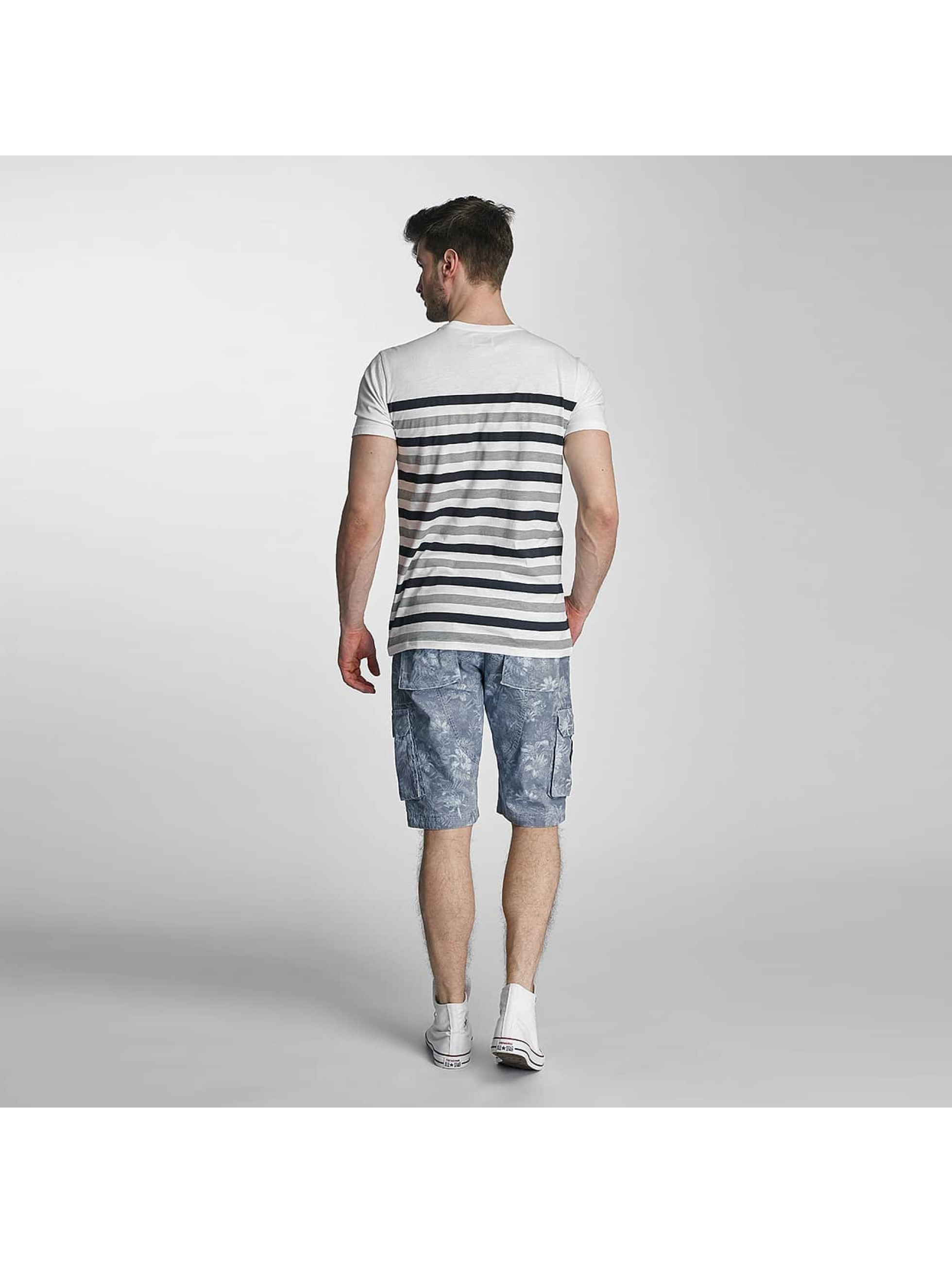 SHINE Original T-skjorter Striped grå