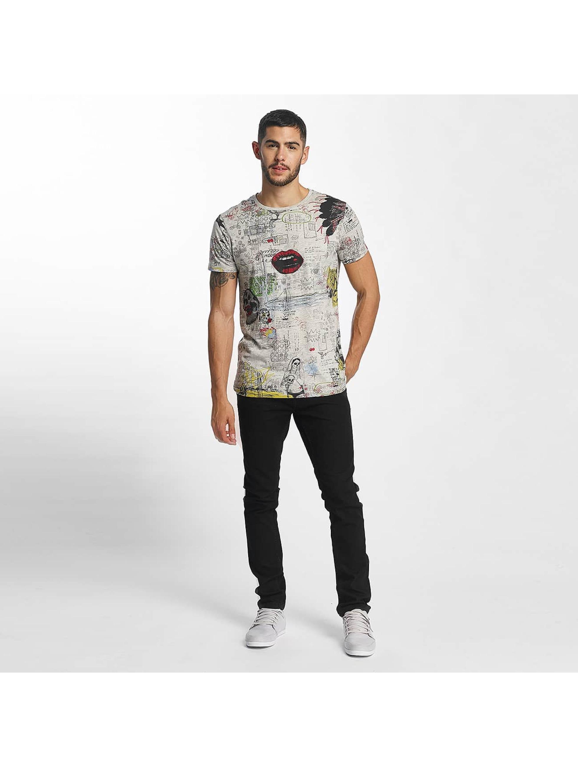 SHINE Original T-skjorter Capsule AOP grå
