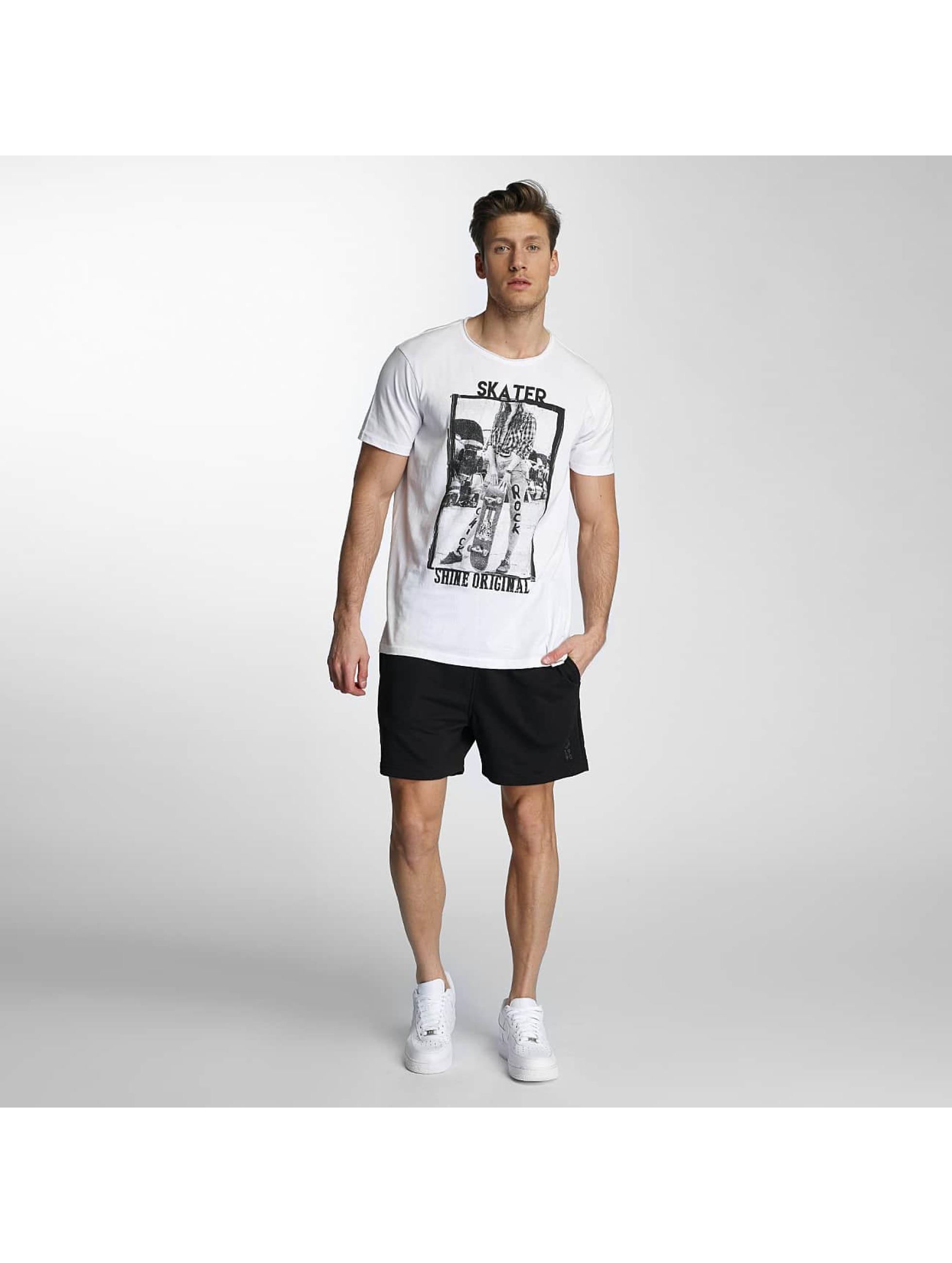 SHINE Original T-skjorter Skater hvit