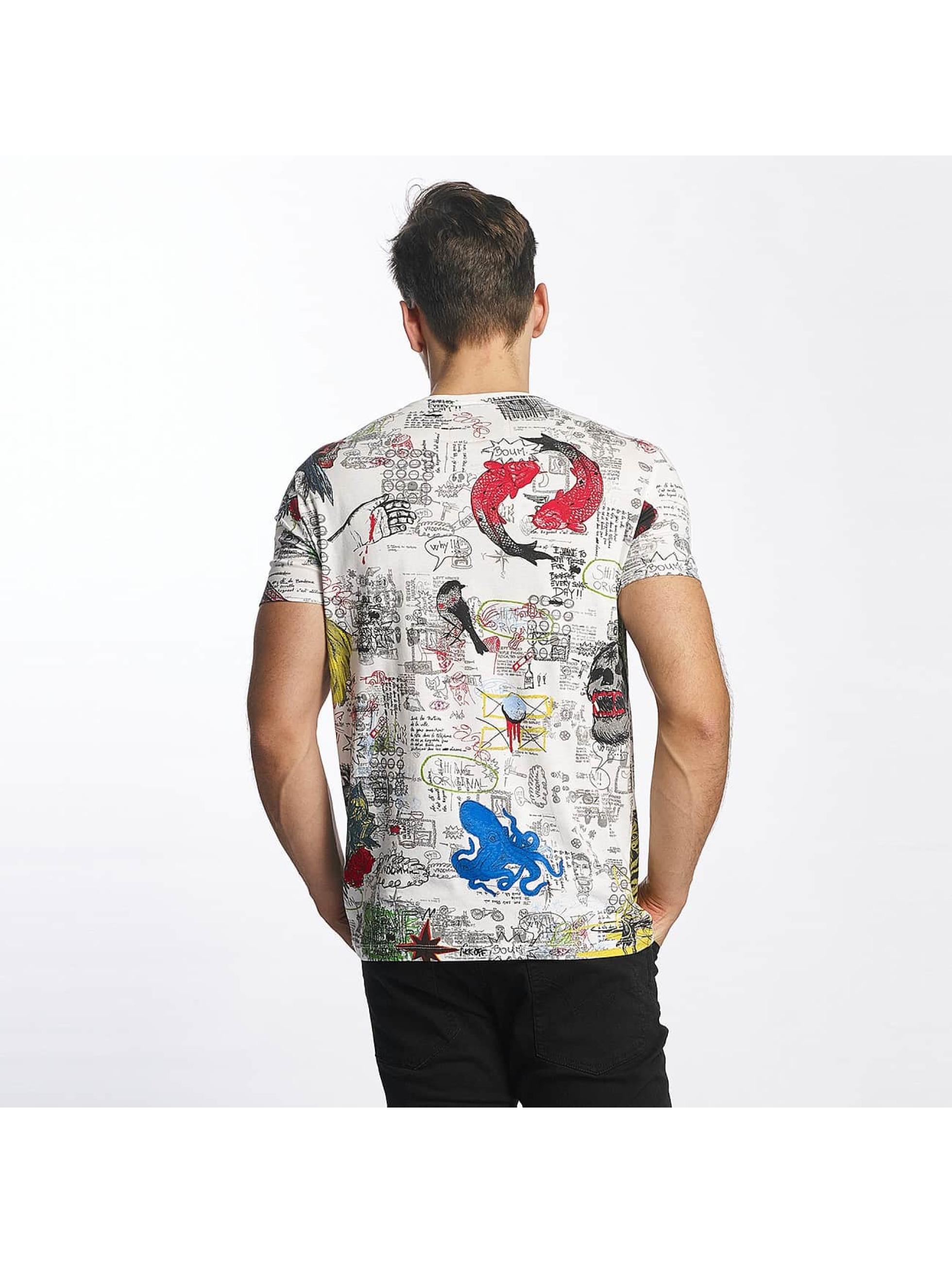 SHINE Original T-skjorter Capsule AOP hvit