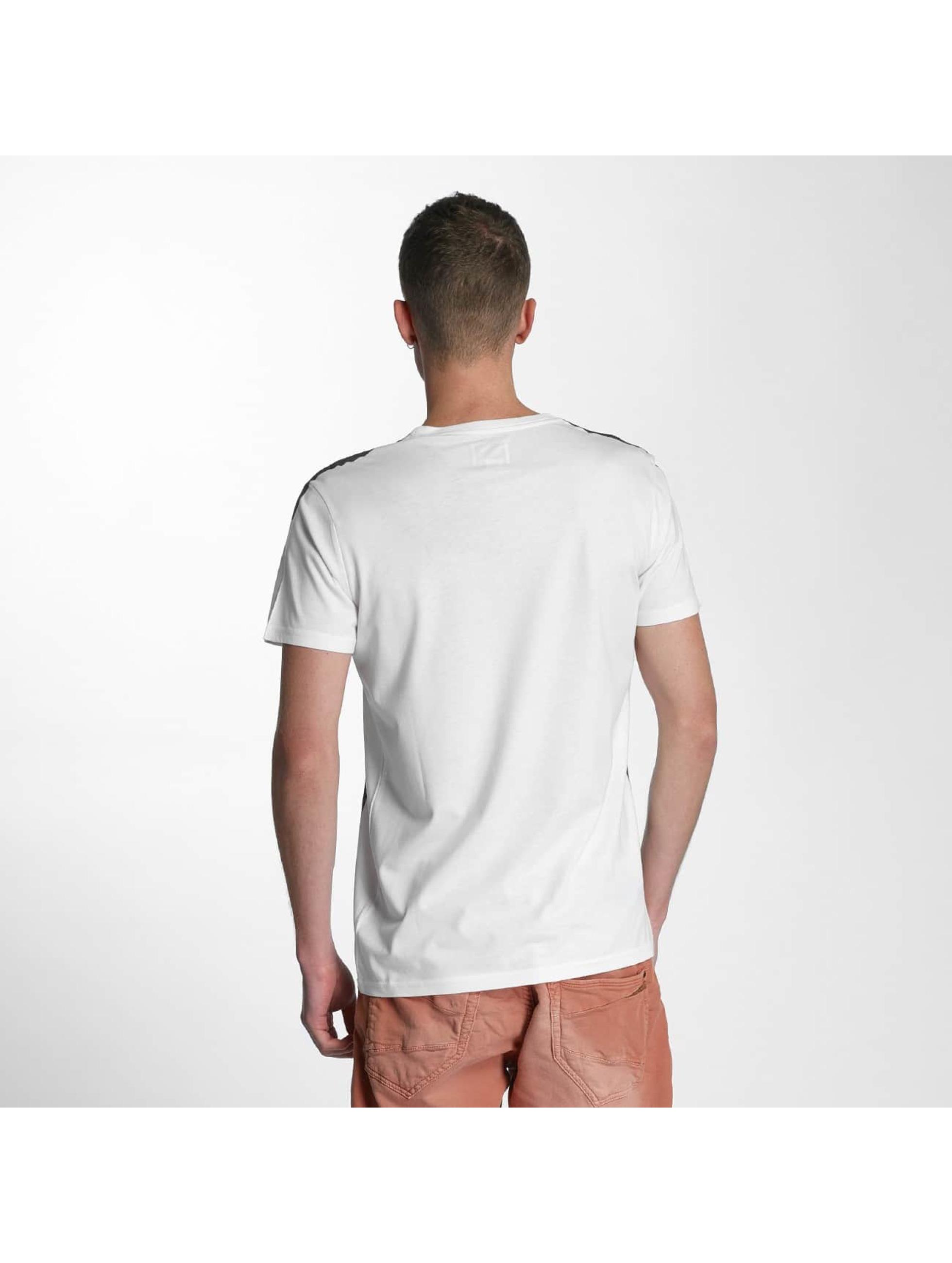 SHINE Original Tričká Print Oversize biela