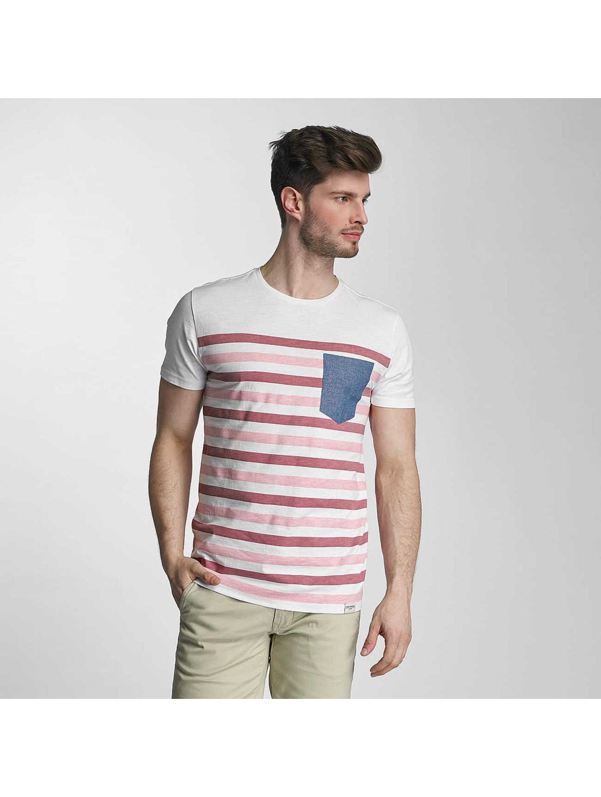 SHINE Original Tričká Striped ružová