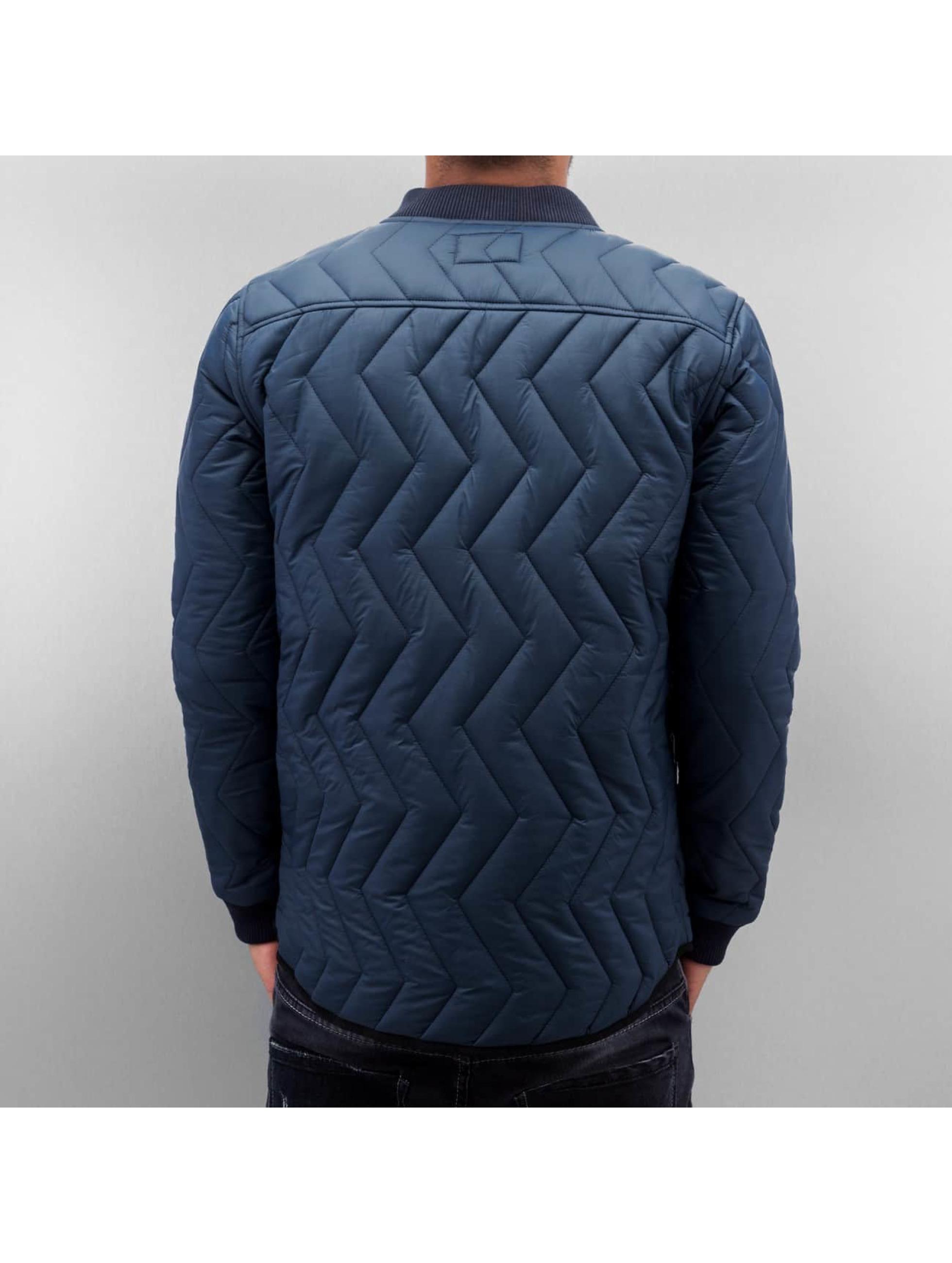SHINE Original Winterjacke Quilted blau