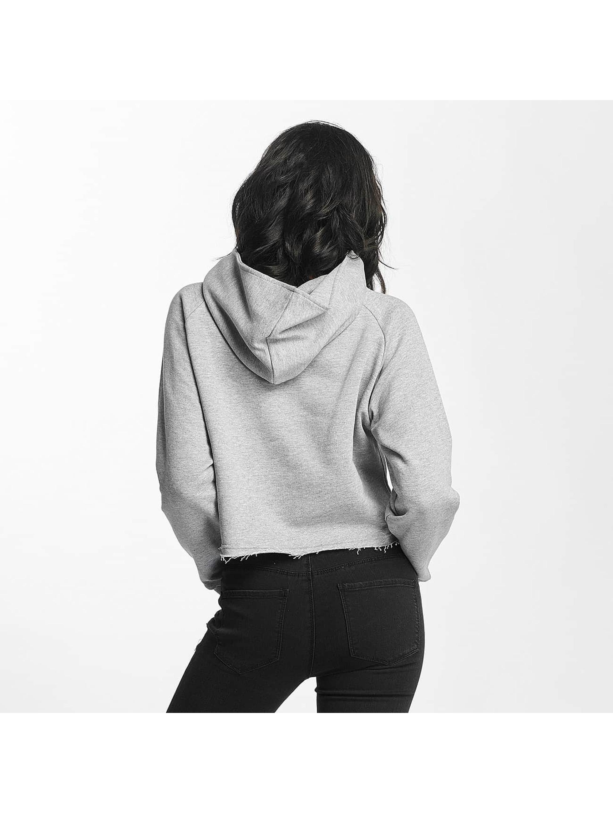 Shisha  Hoodie Cropped grey