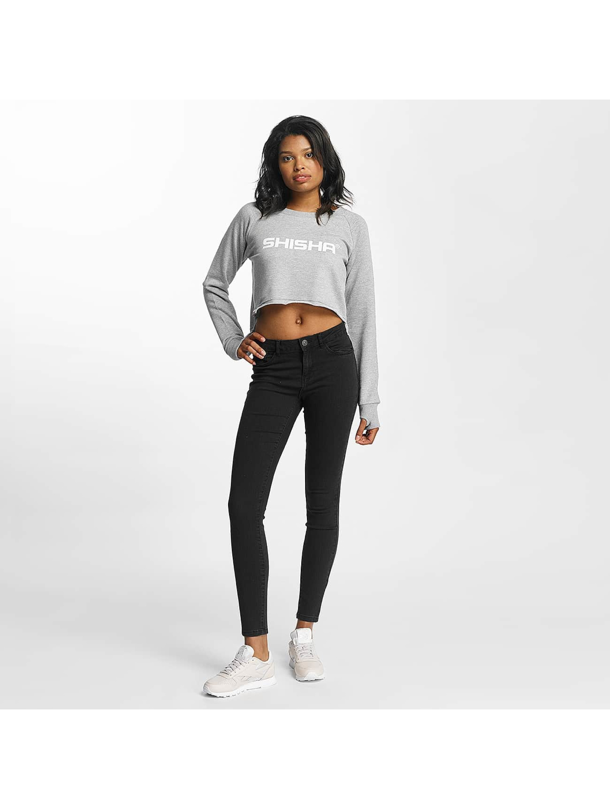 Shisha  Jumper Cropped grey