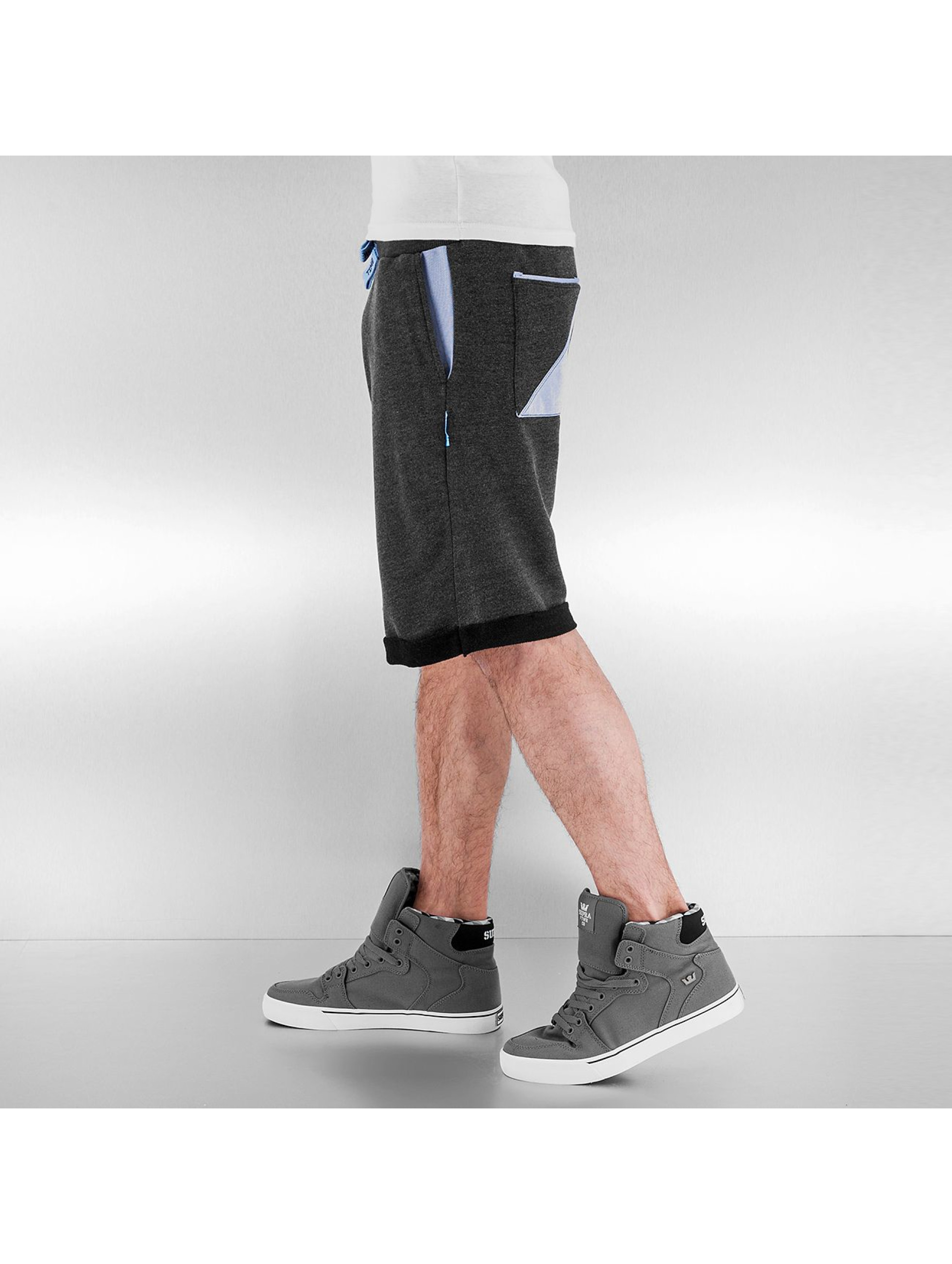 Shisha  Shorts Stoot grau