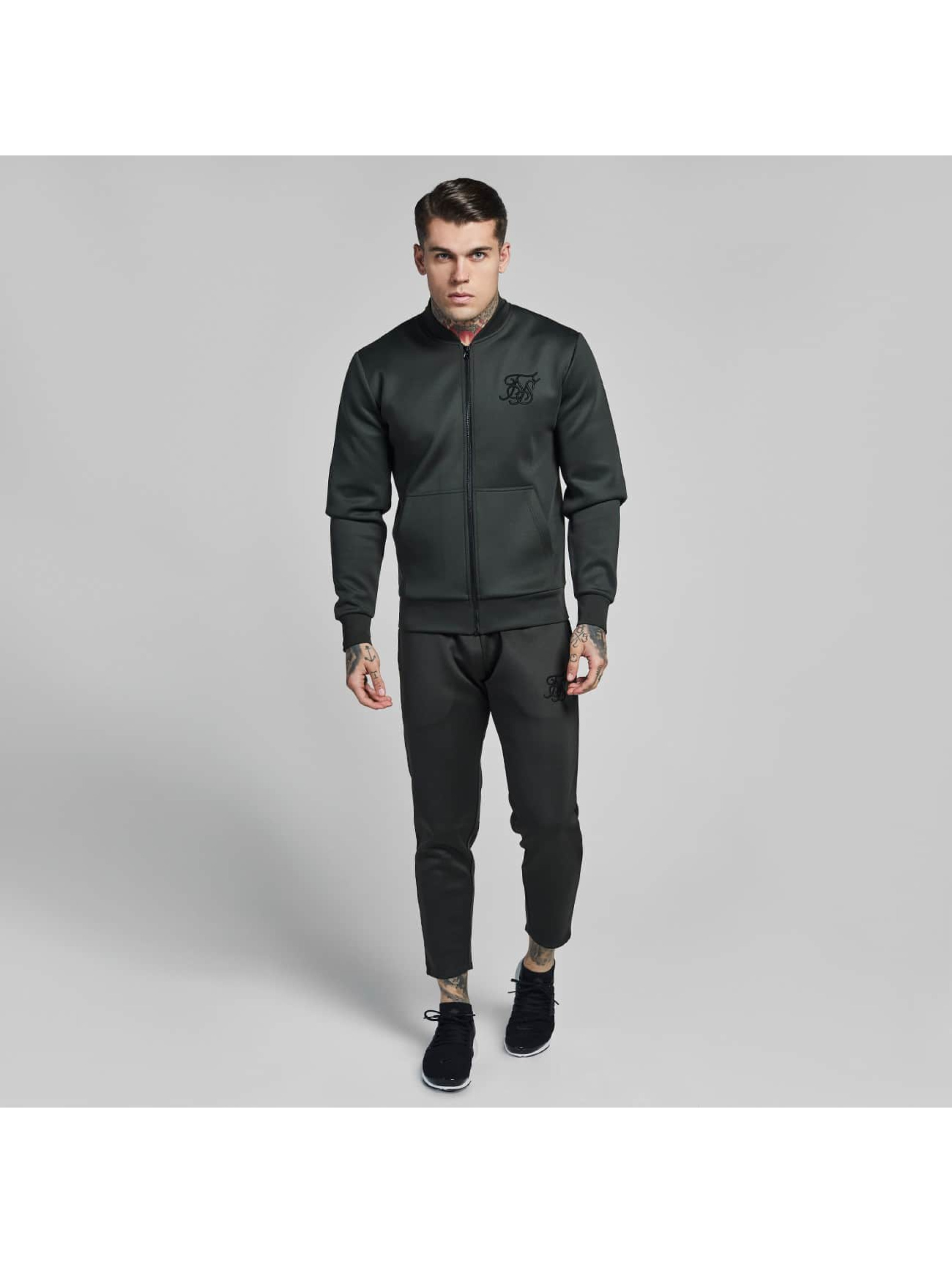 Sik Silk Lightweight Jacket Poly Tricot khaki