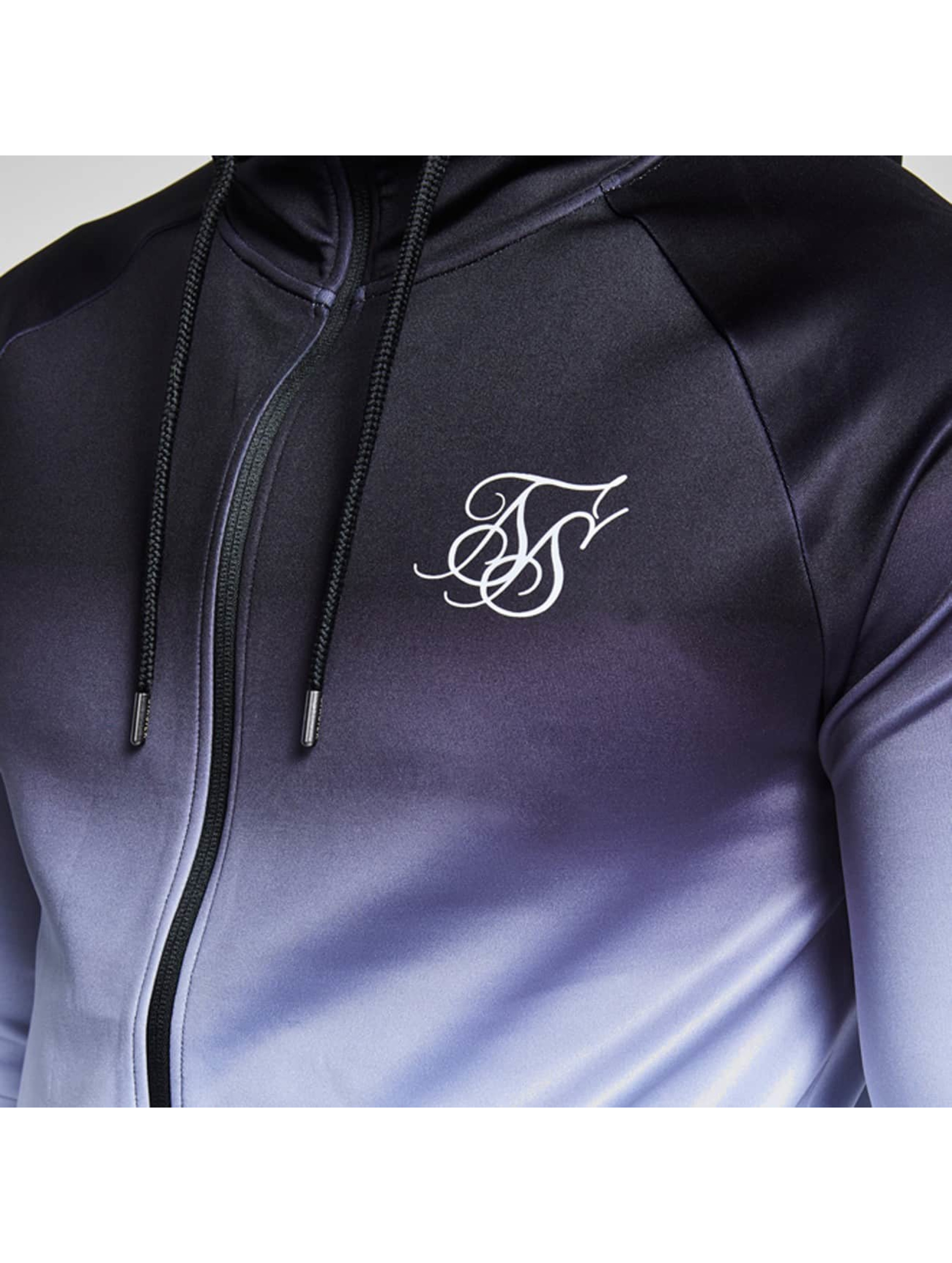 Sik Silk Overgangsjakker Athlete Through sort