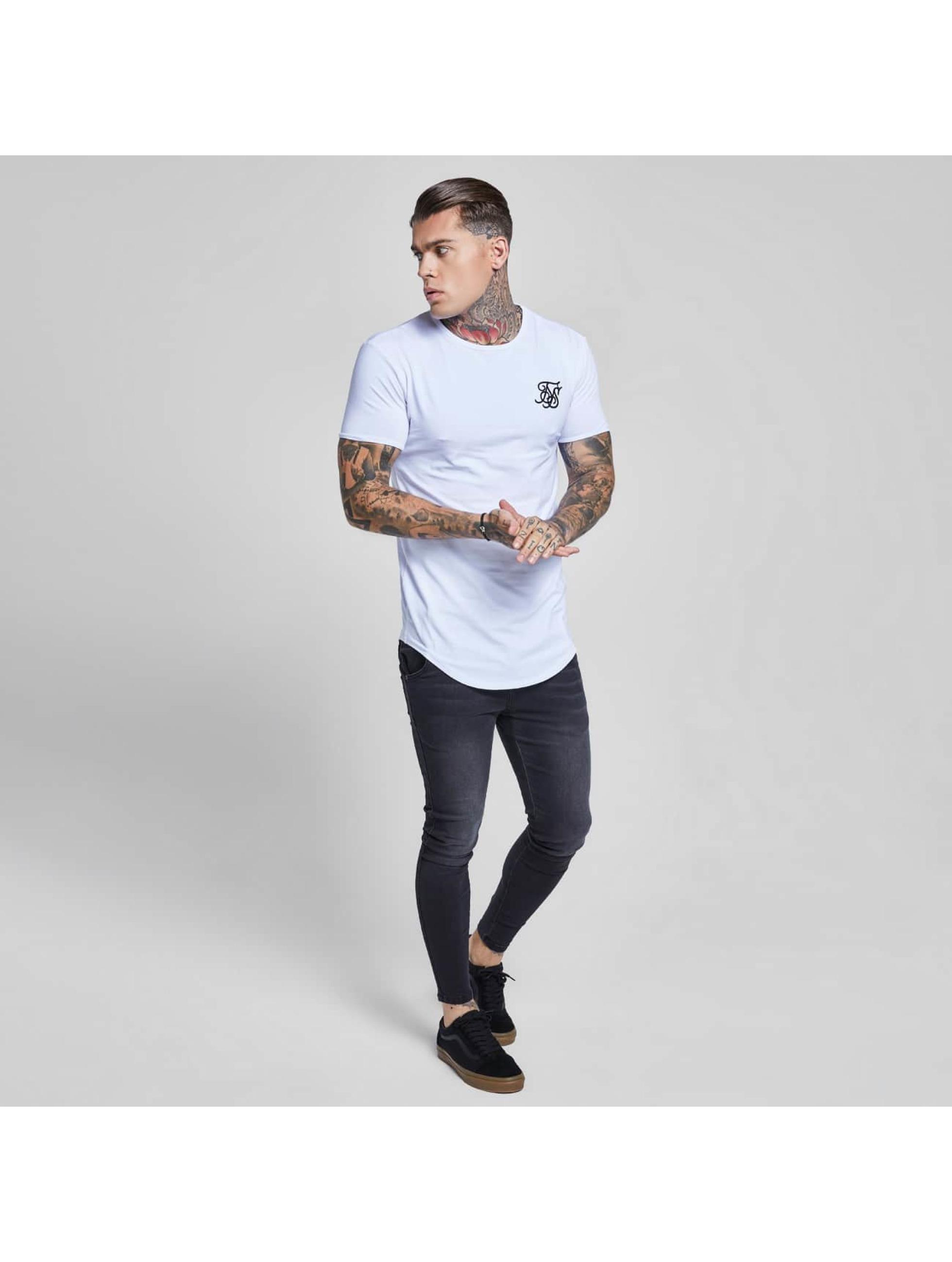Sik Silk T-paidat Gym valkoinen