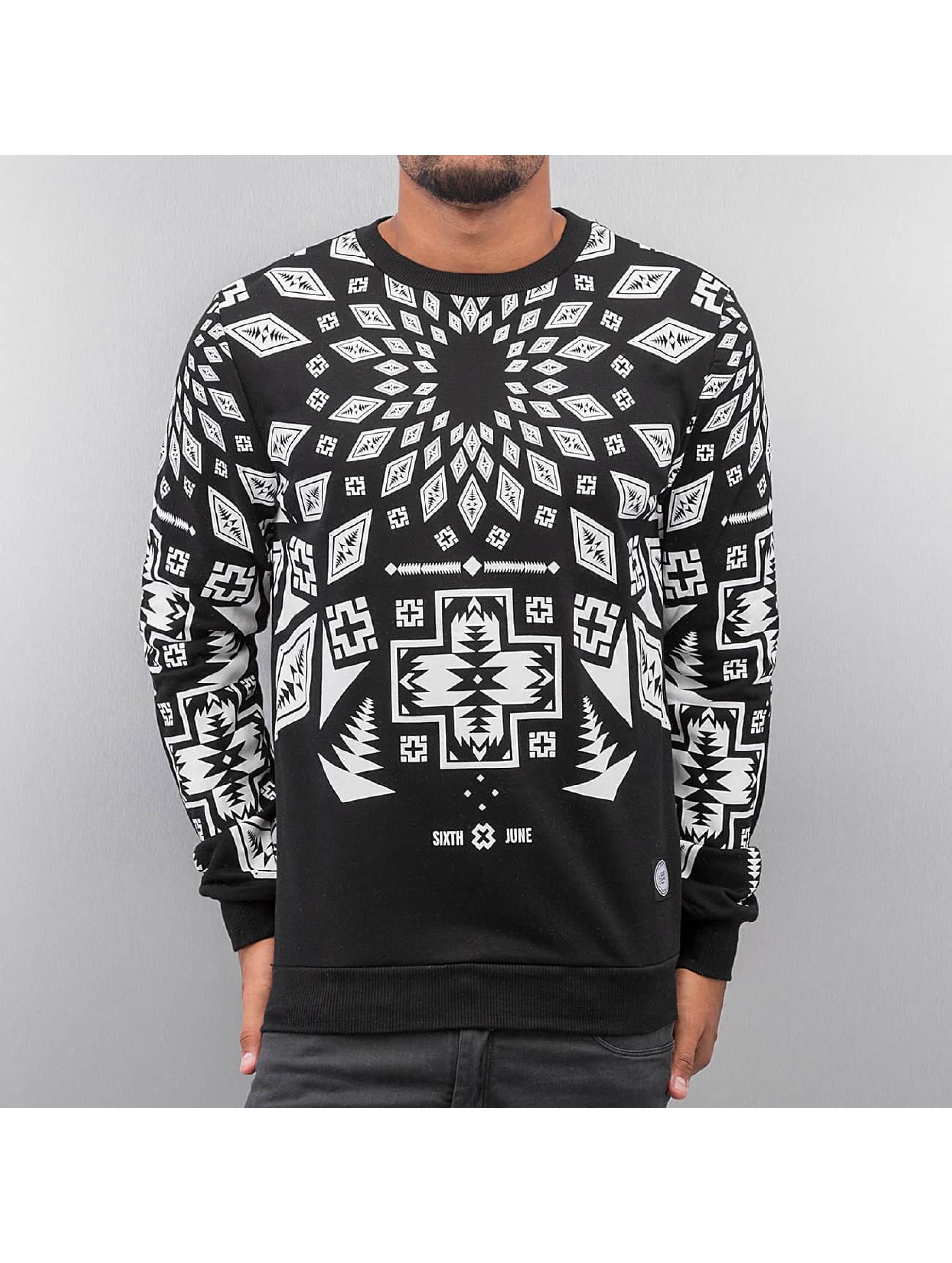 Sixth June Пуловер Geomatric черный