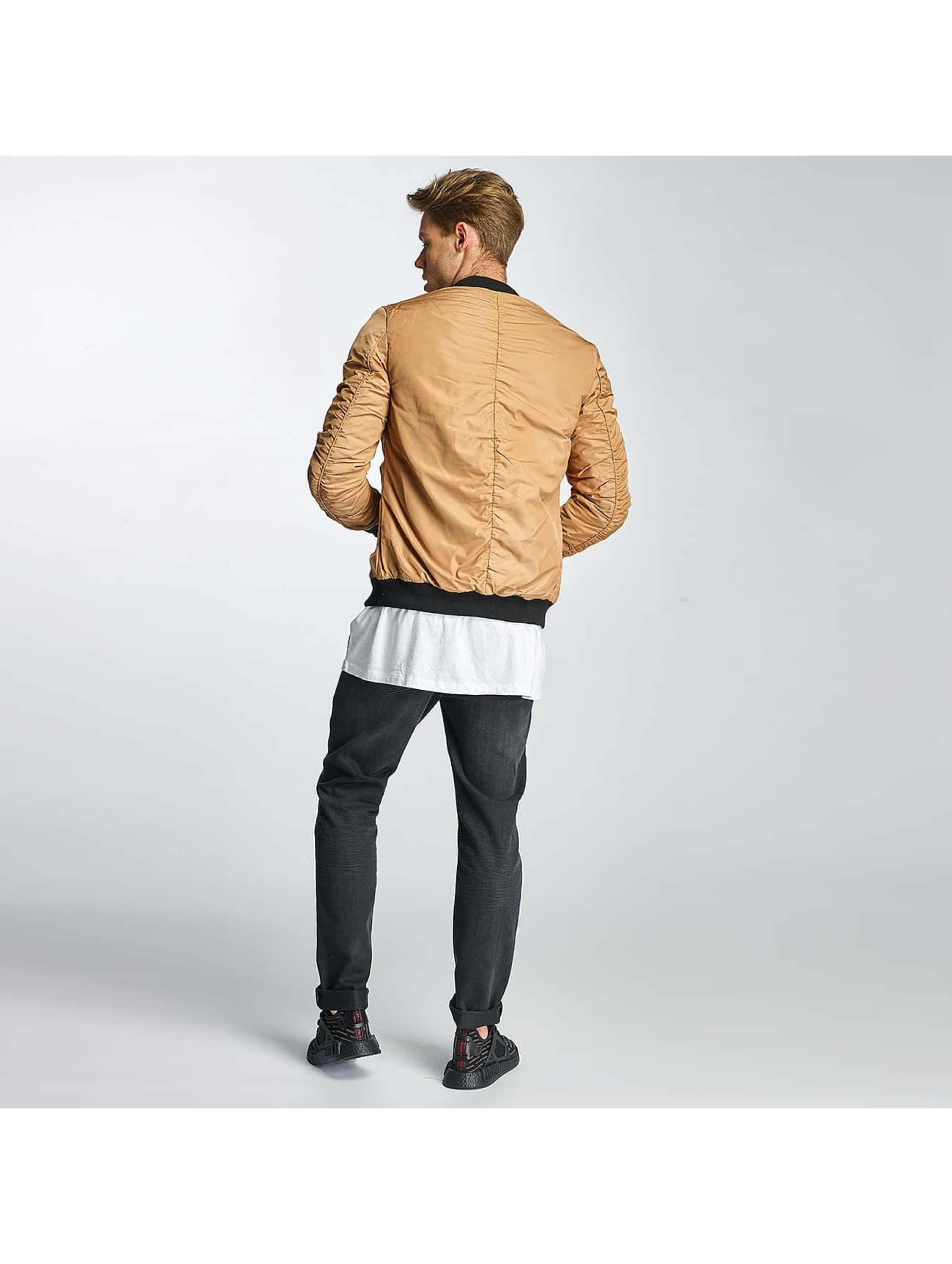 Sixth June Bomber jacket Padded beige