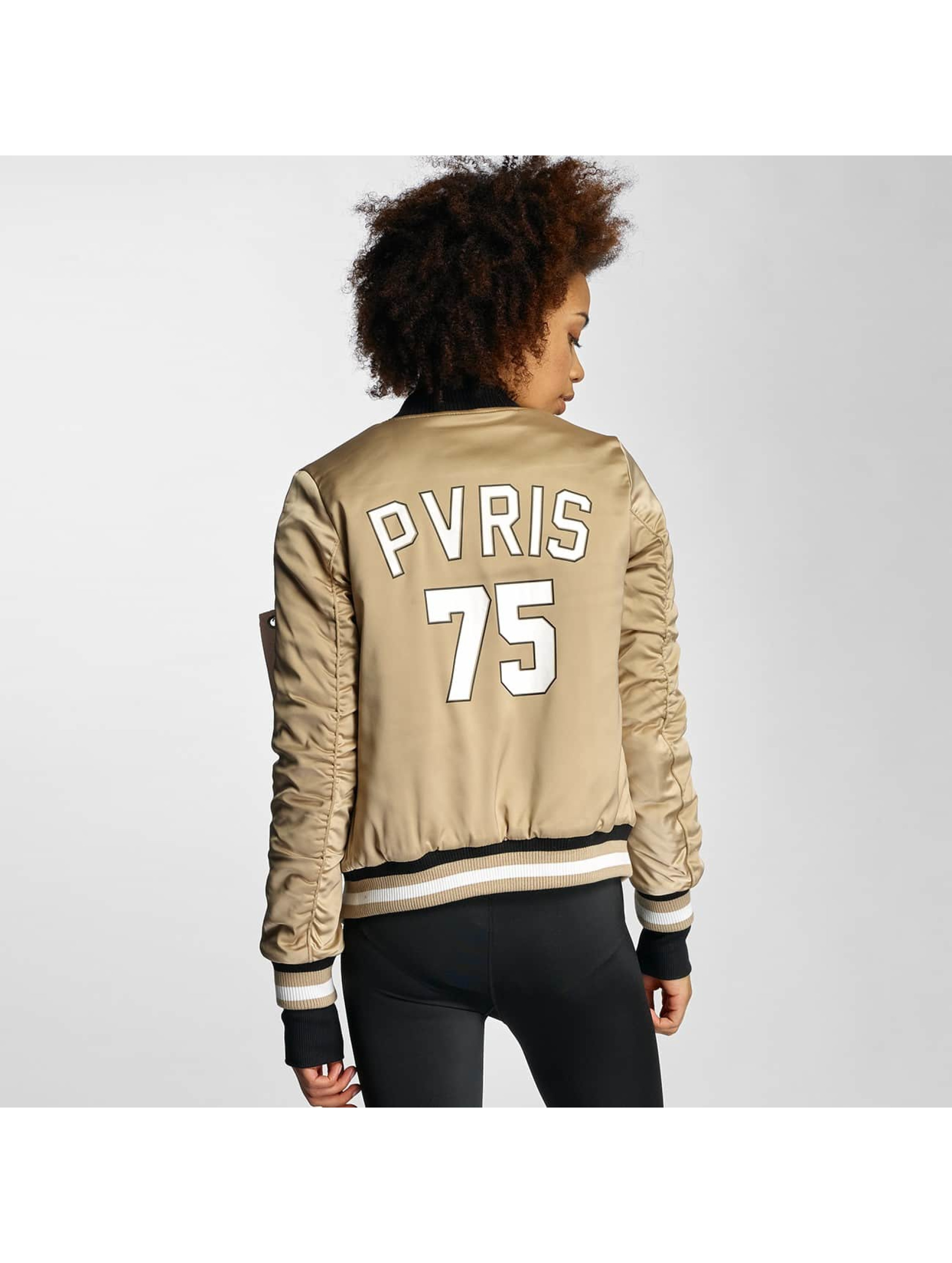 Sixth June Bomber jacket Paris 75 beige