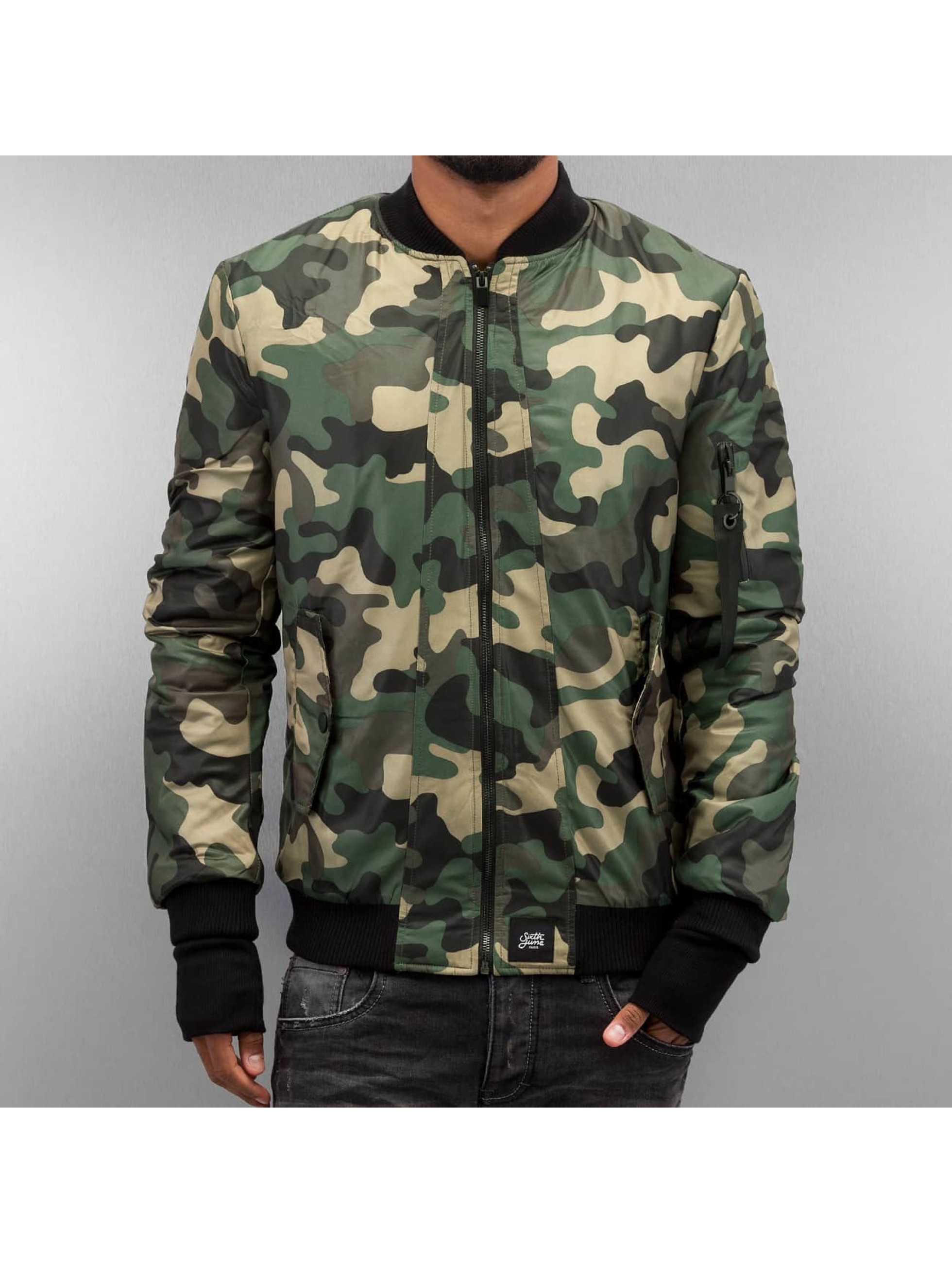 Sixth June Bomber jacket Camou camouflage