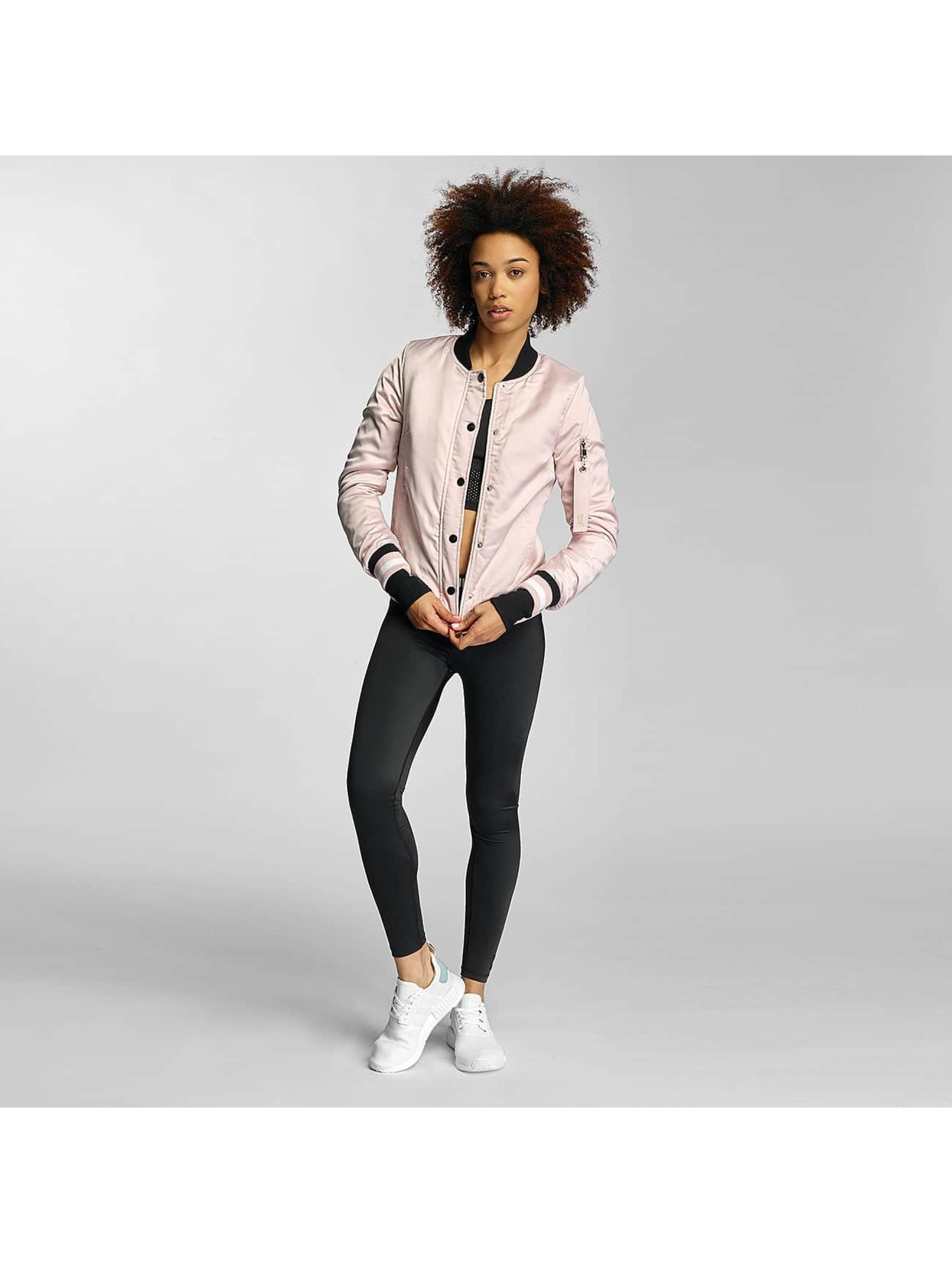 Sixth June Bomber jacket Paris 75 rose