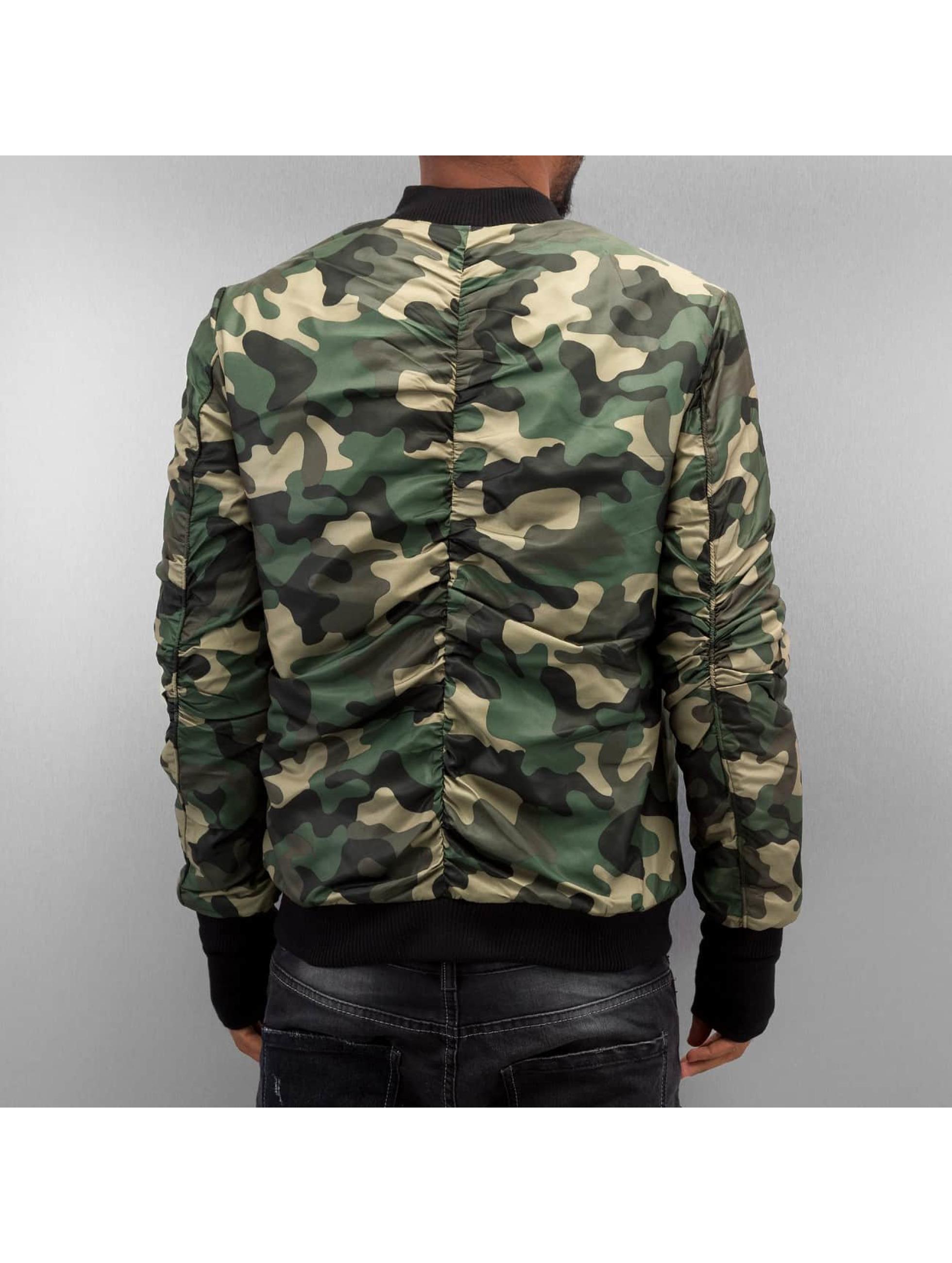 Sixth June Bomberjacke Camou camouflage