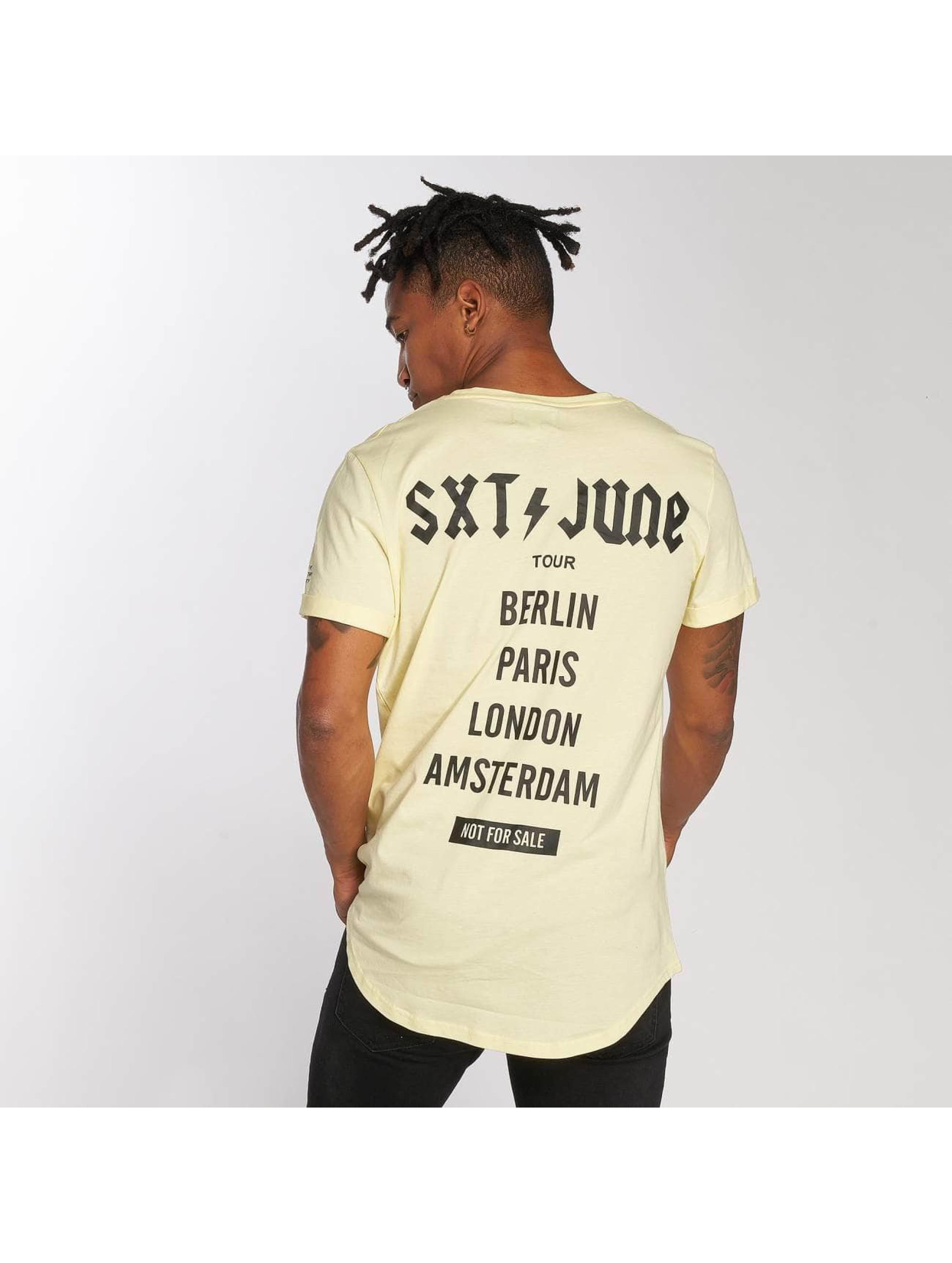 Sixth June Camiseta Crew amarillo