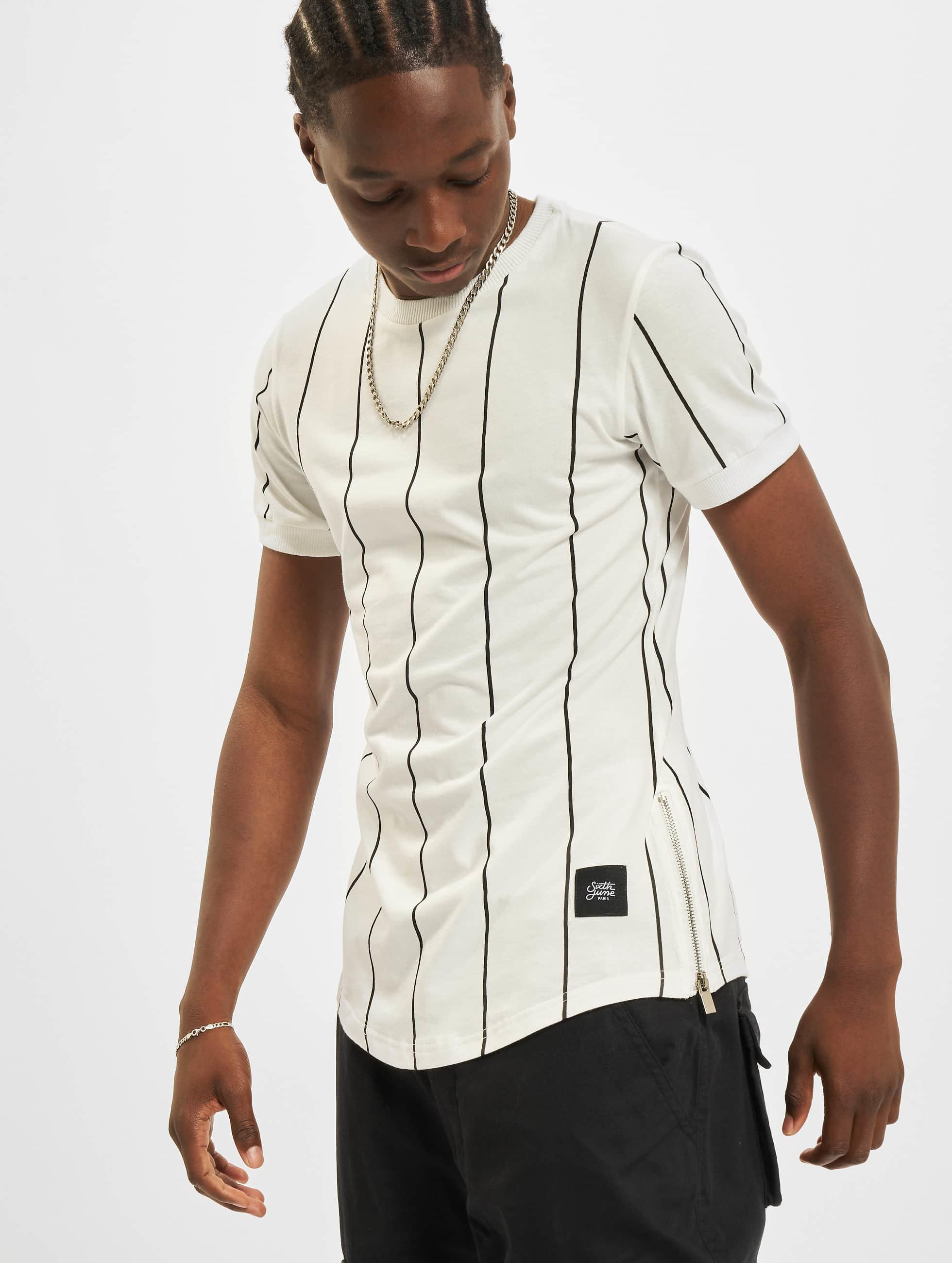 Sixth June Camiseta Lines blanco