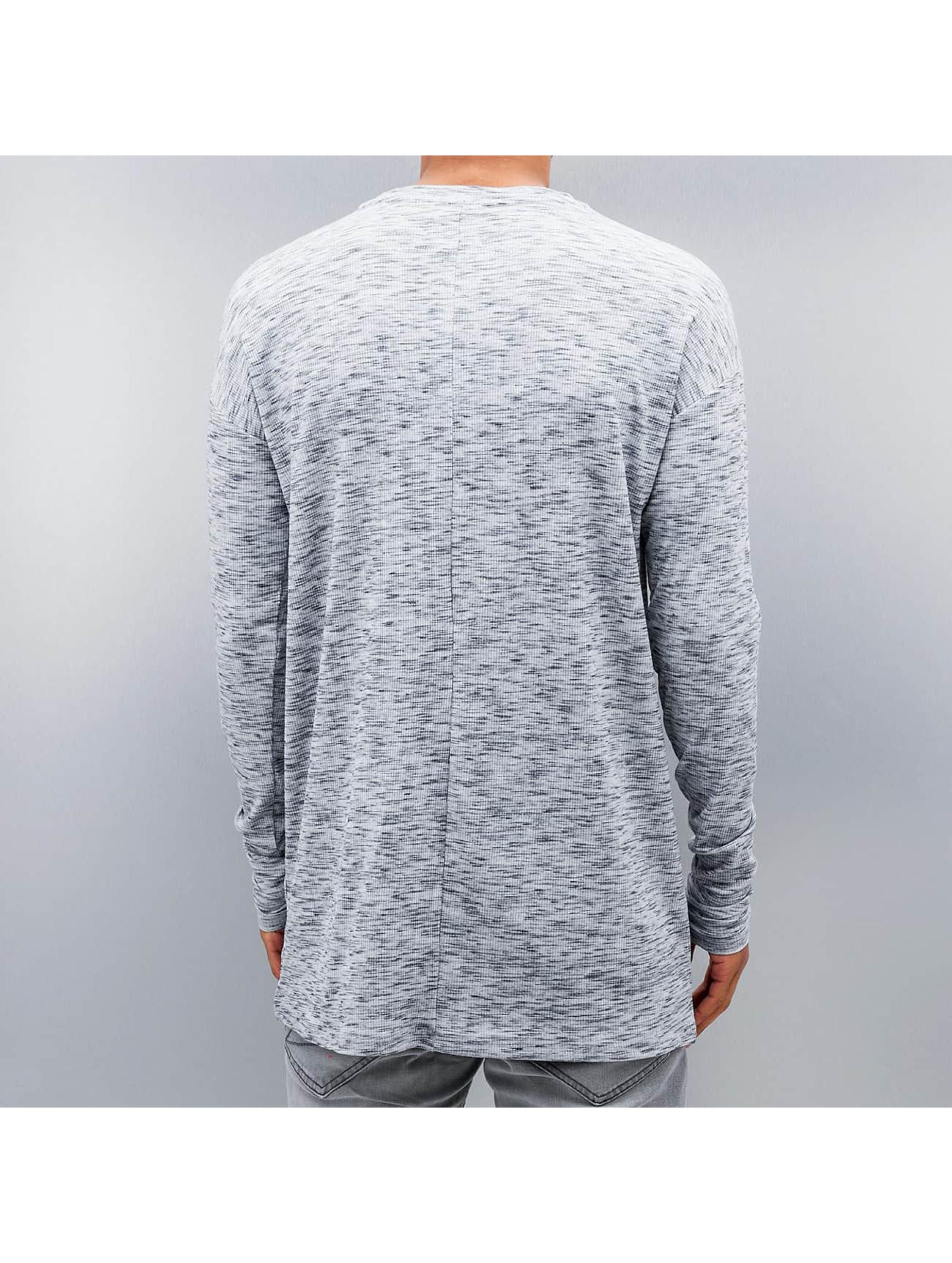 Sixth June Camiseta de manga larga Ripped blanco