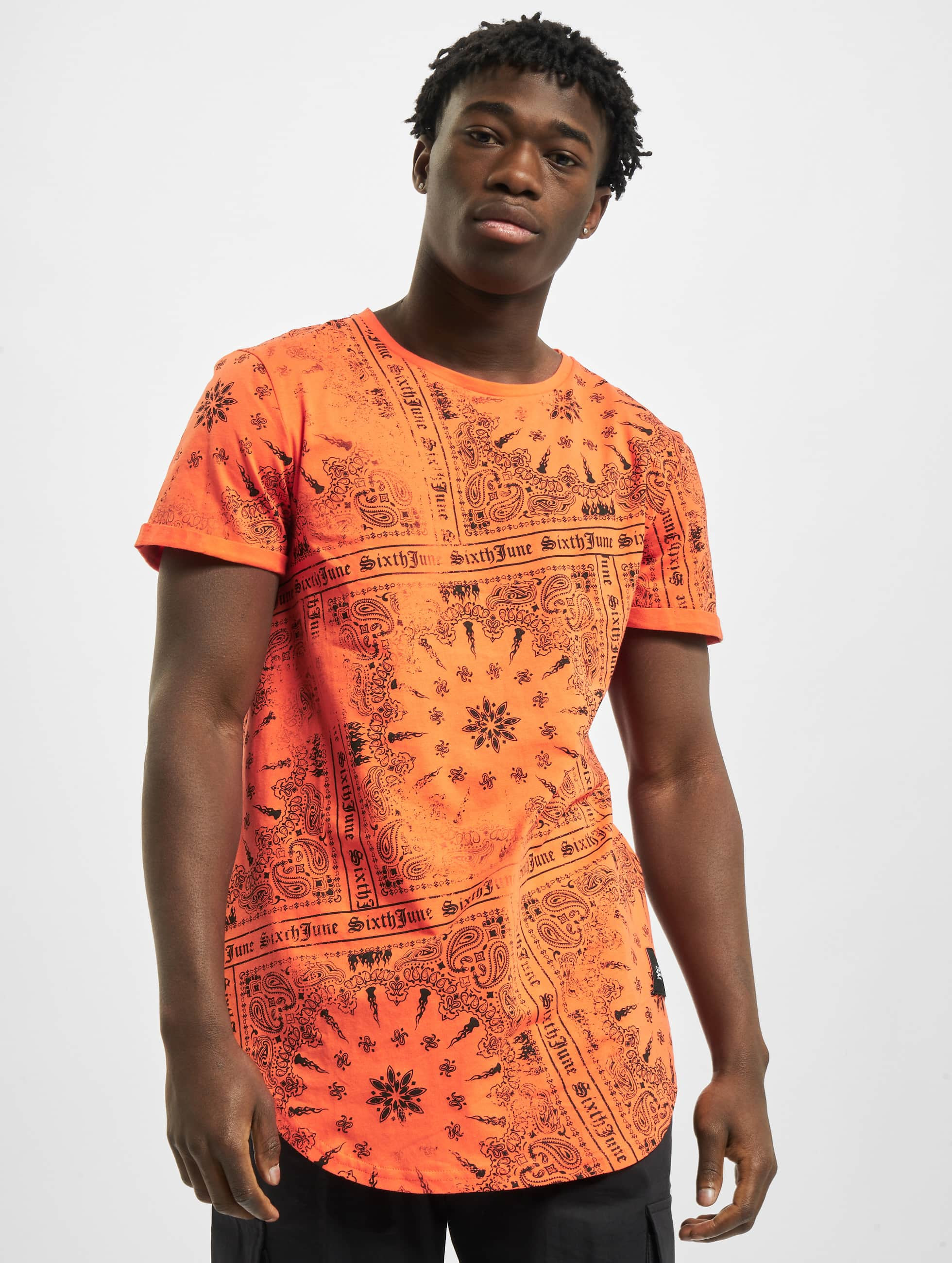 Sixth June Camiseta Myron naranja