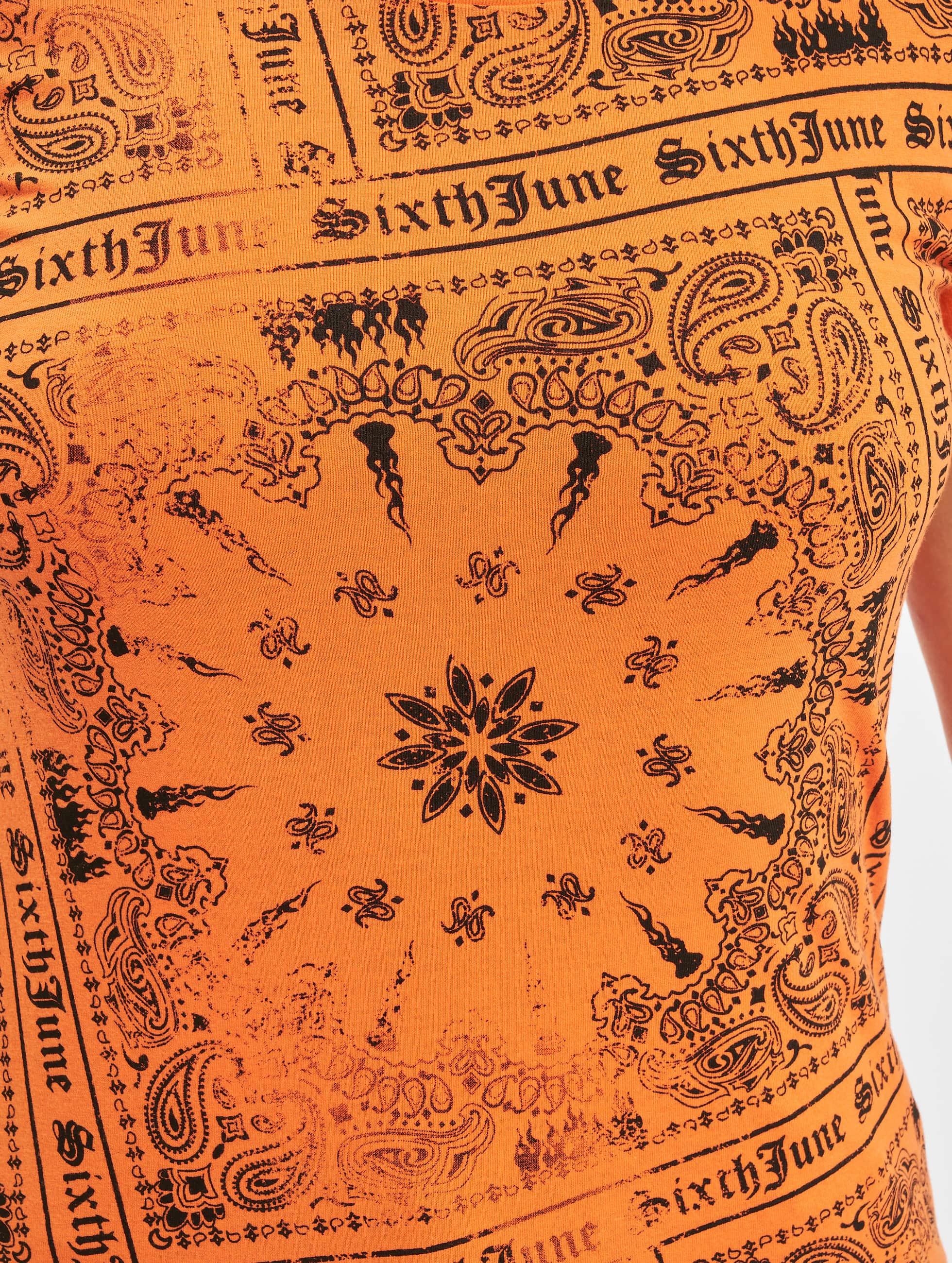Sixth June Camiseta Emilia naranja