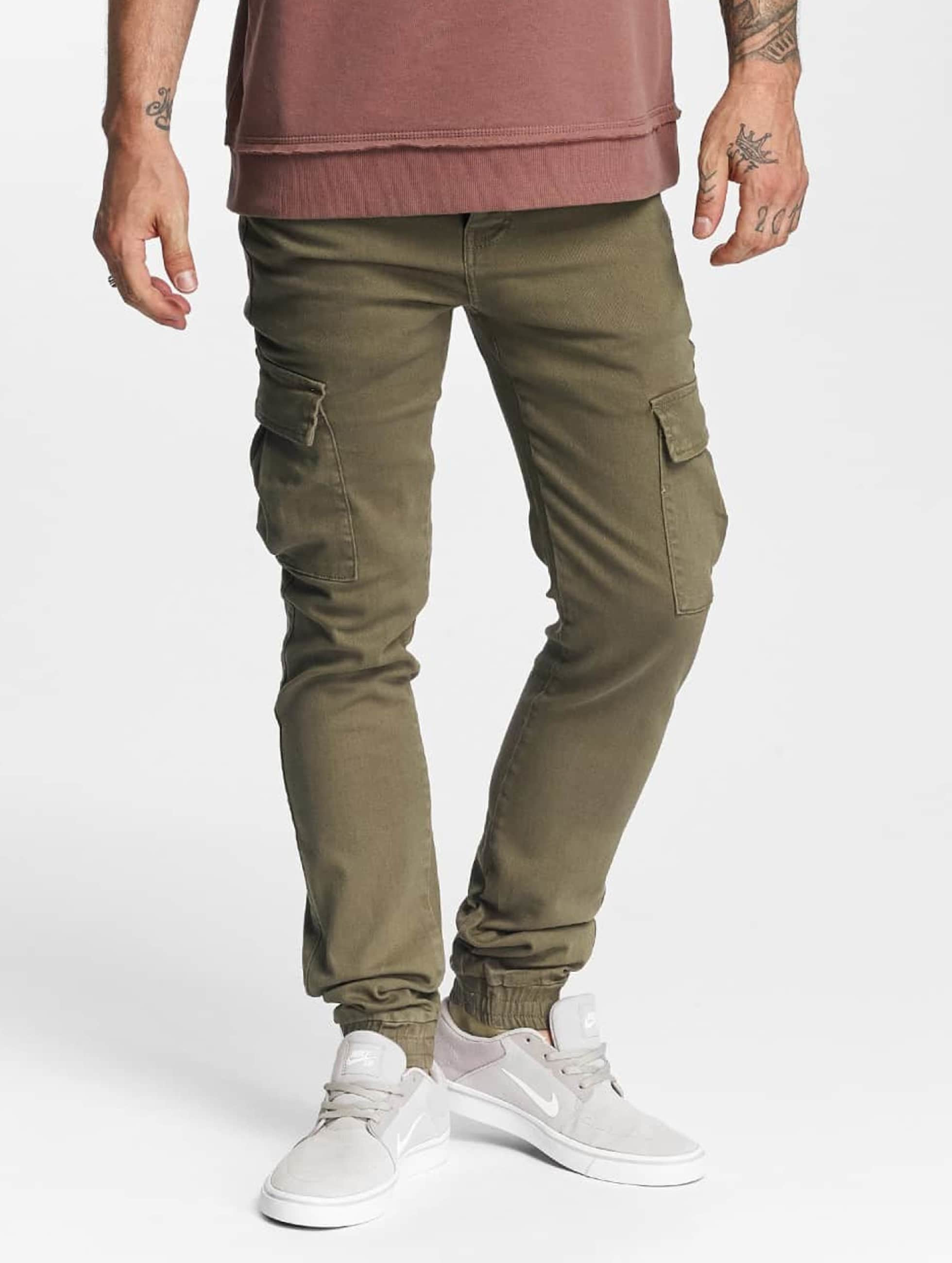 Sixth June Cargohose Cargo Denim olive