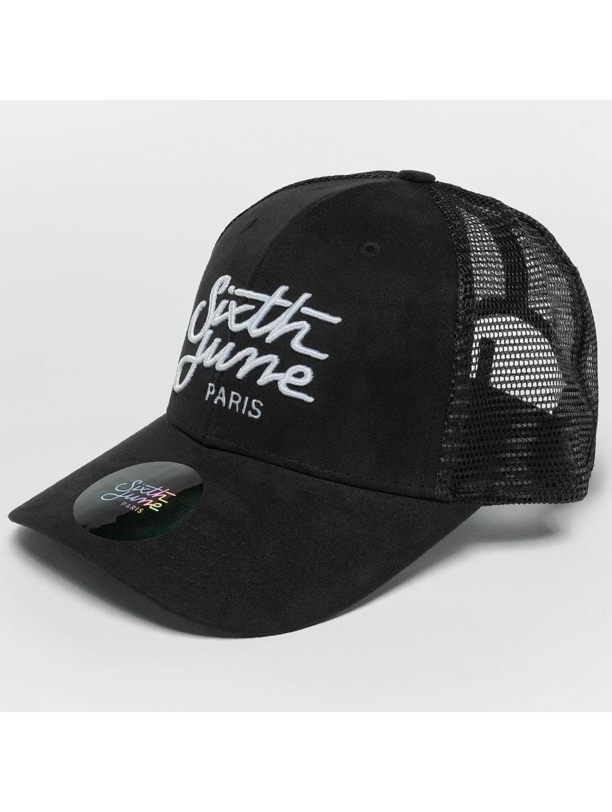 Sixth June Casquette Trucker mesh Trucker noir