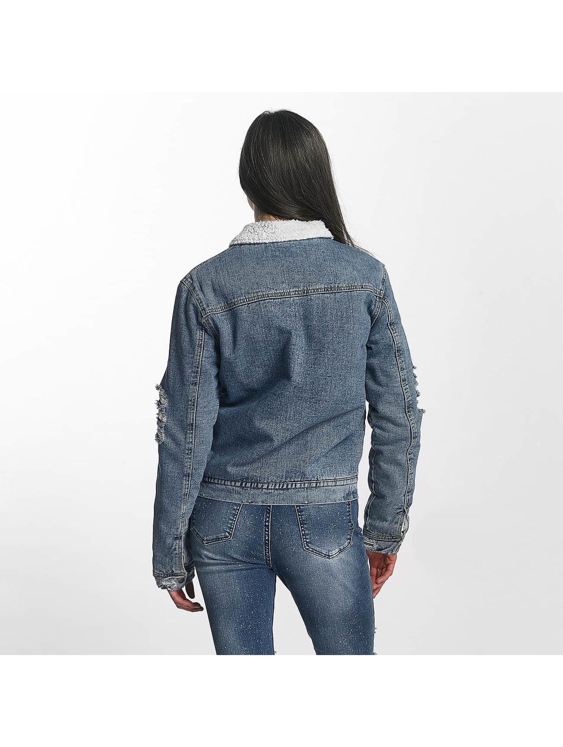 Sixth June Chaqueta de entretiempo Jeans Sherpa azul