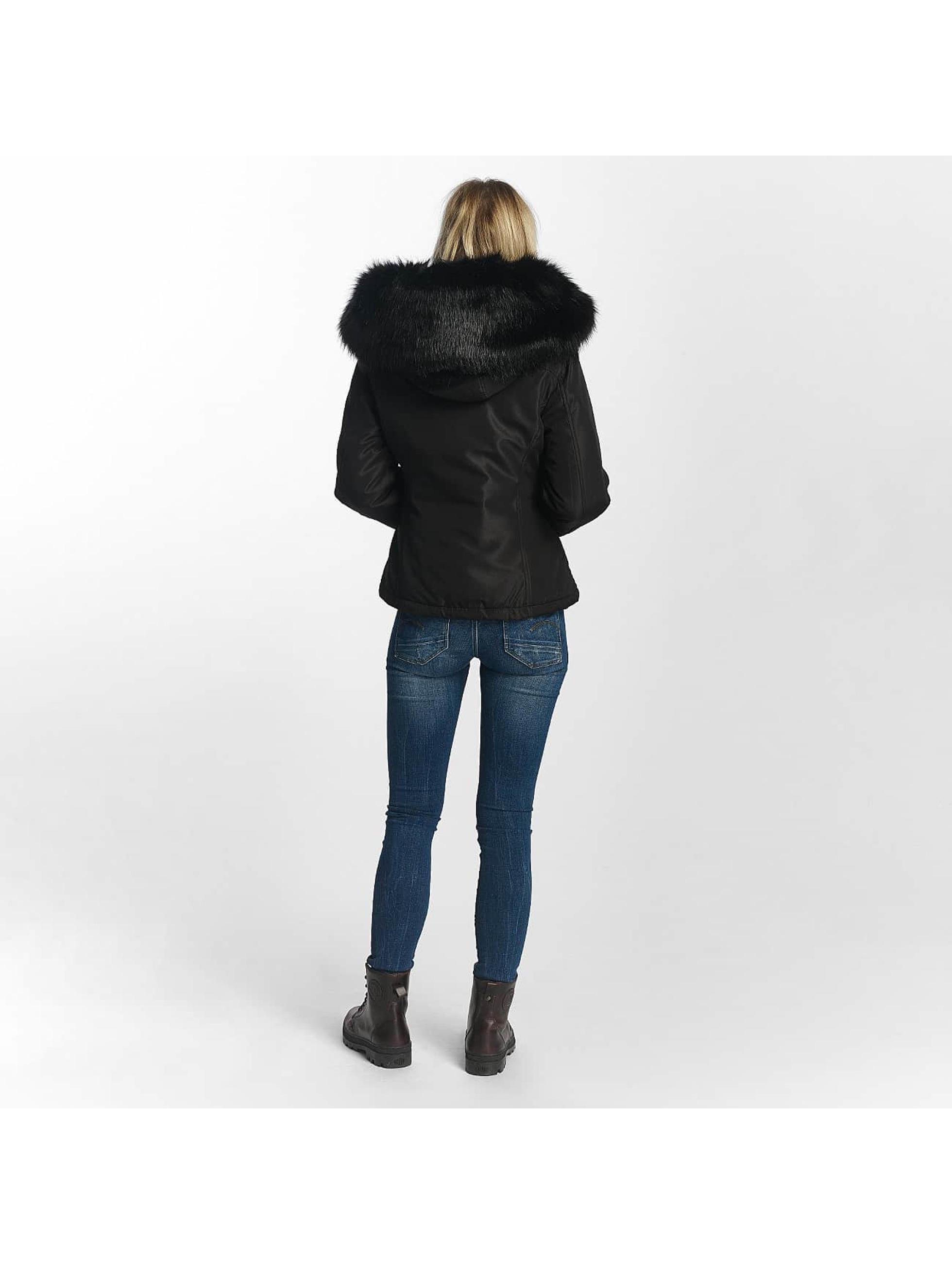 Sixth June Chaqueta de invierno Winter Fur negro