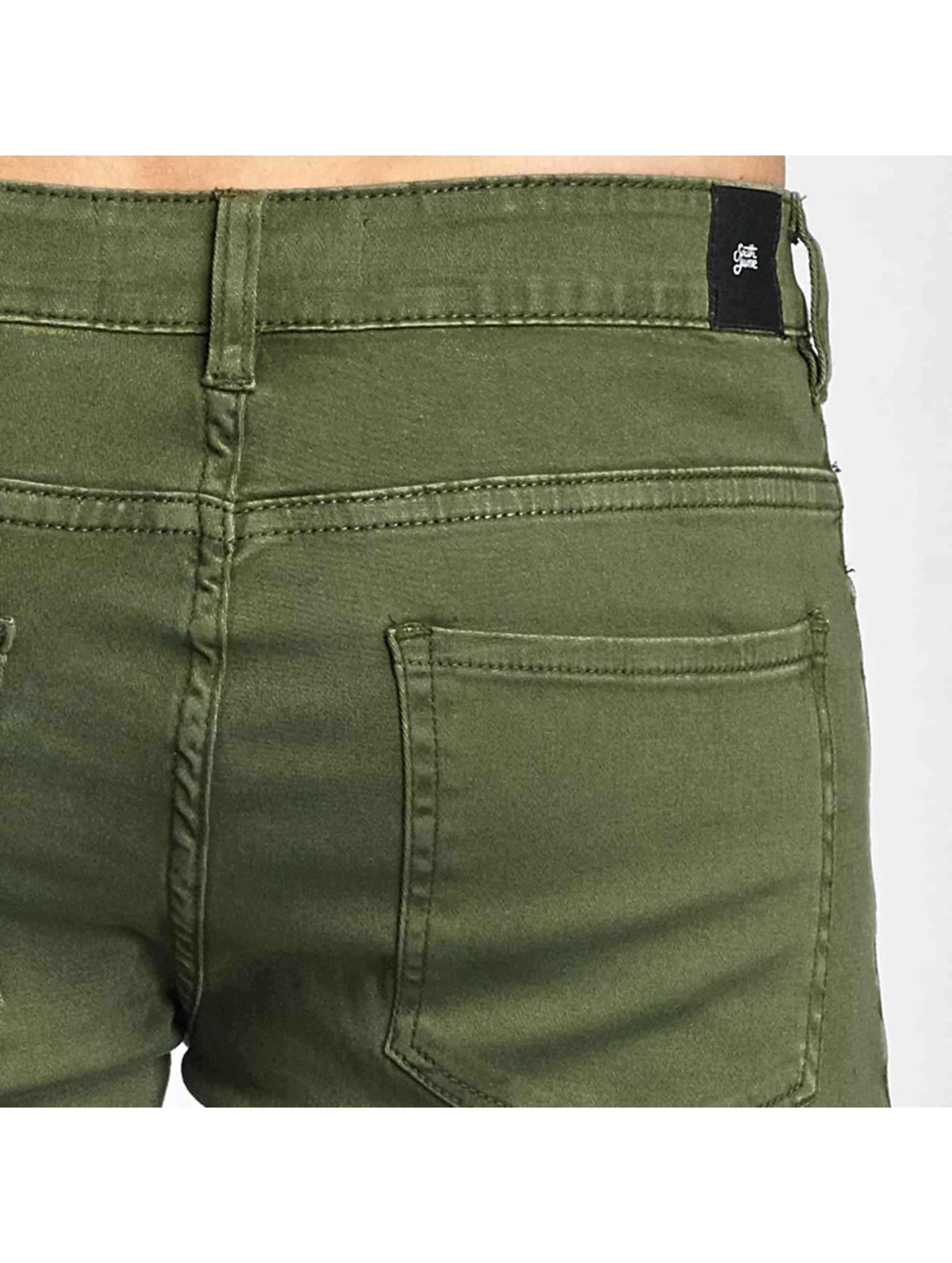 Sixth June Chino bukser Cargo Denim khaki