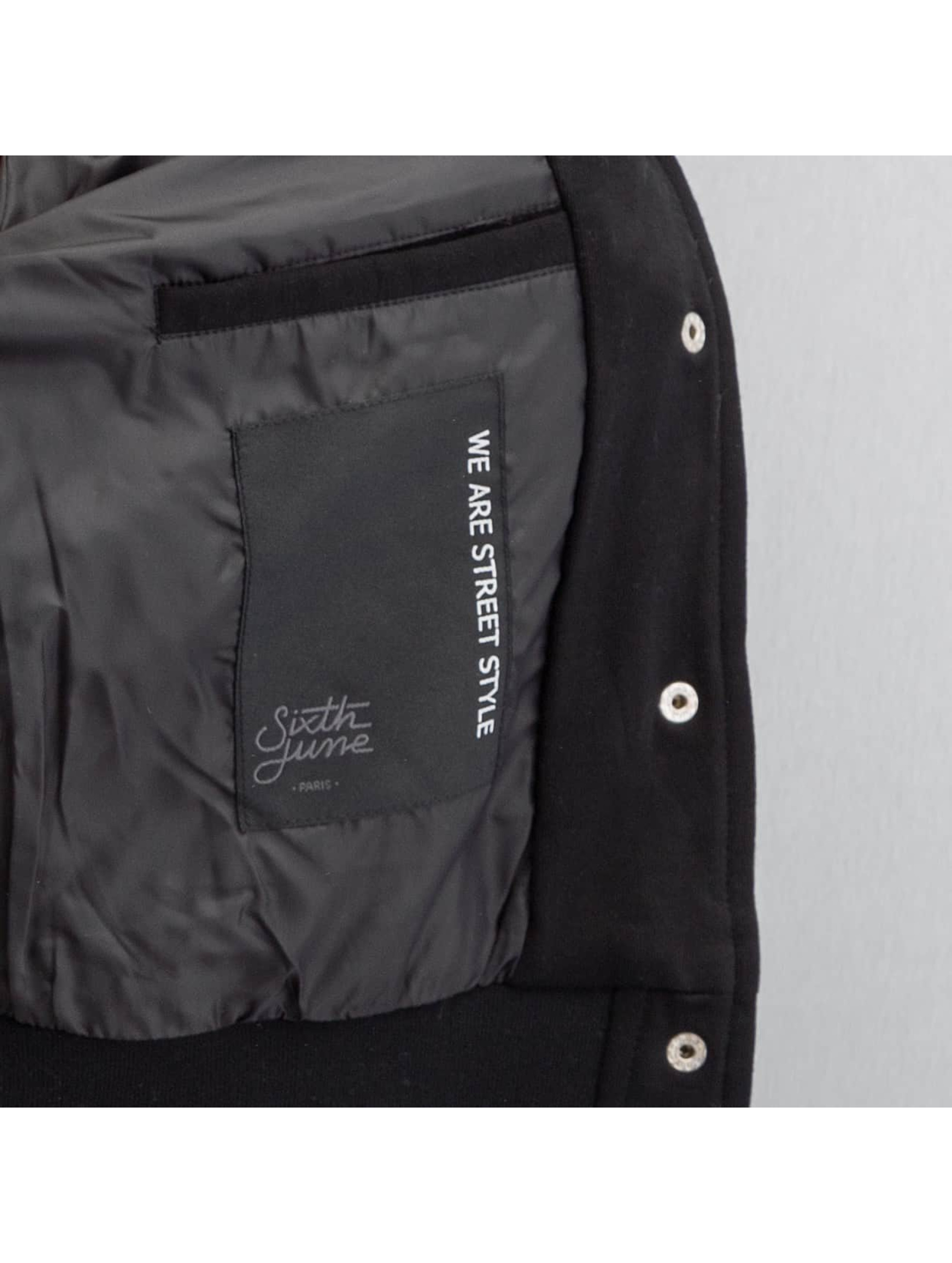 Sixth June College Jacket Teddy black