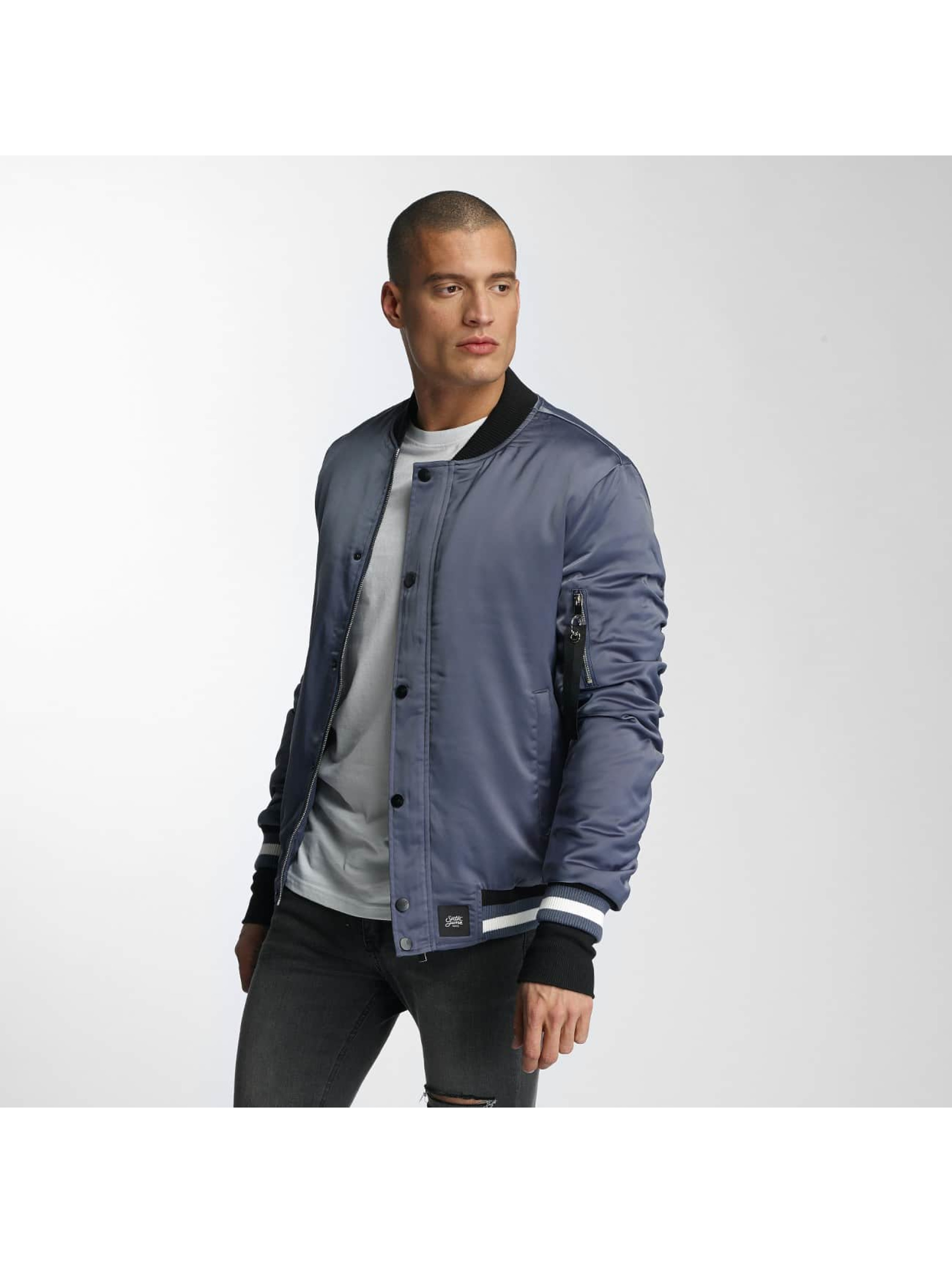 Sixth June College Jacket Satin blue