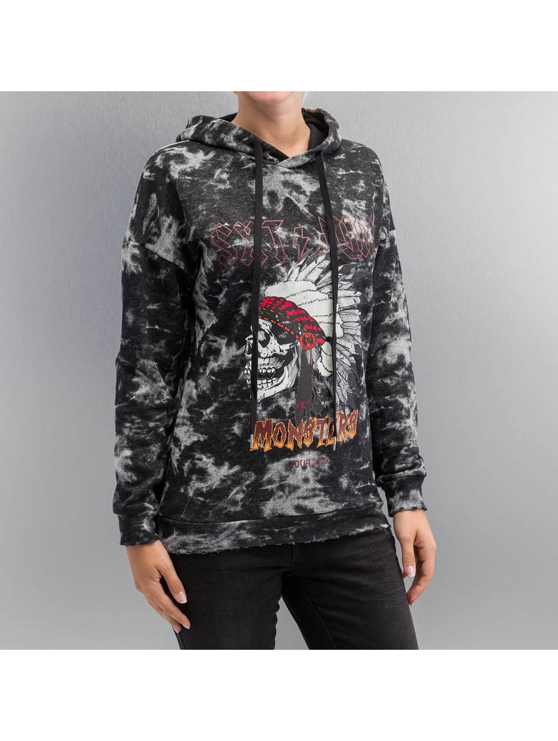 Sixth June Hoodie Rock & Roll black