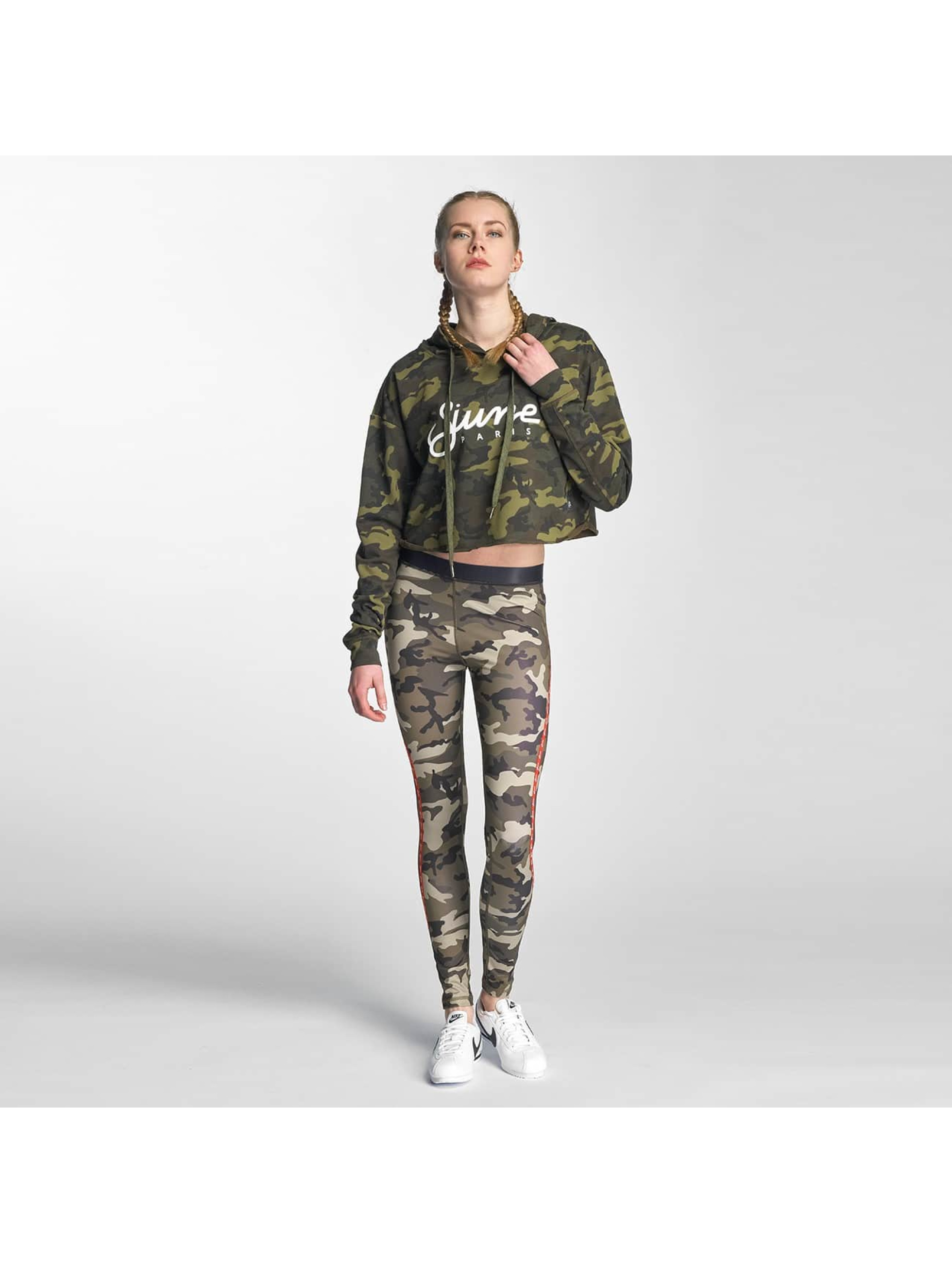 Sixth June Hoody Classic Oversize Cropped camouflage