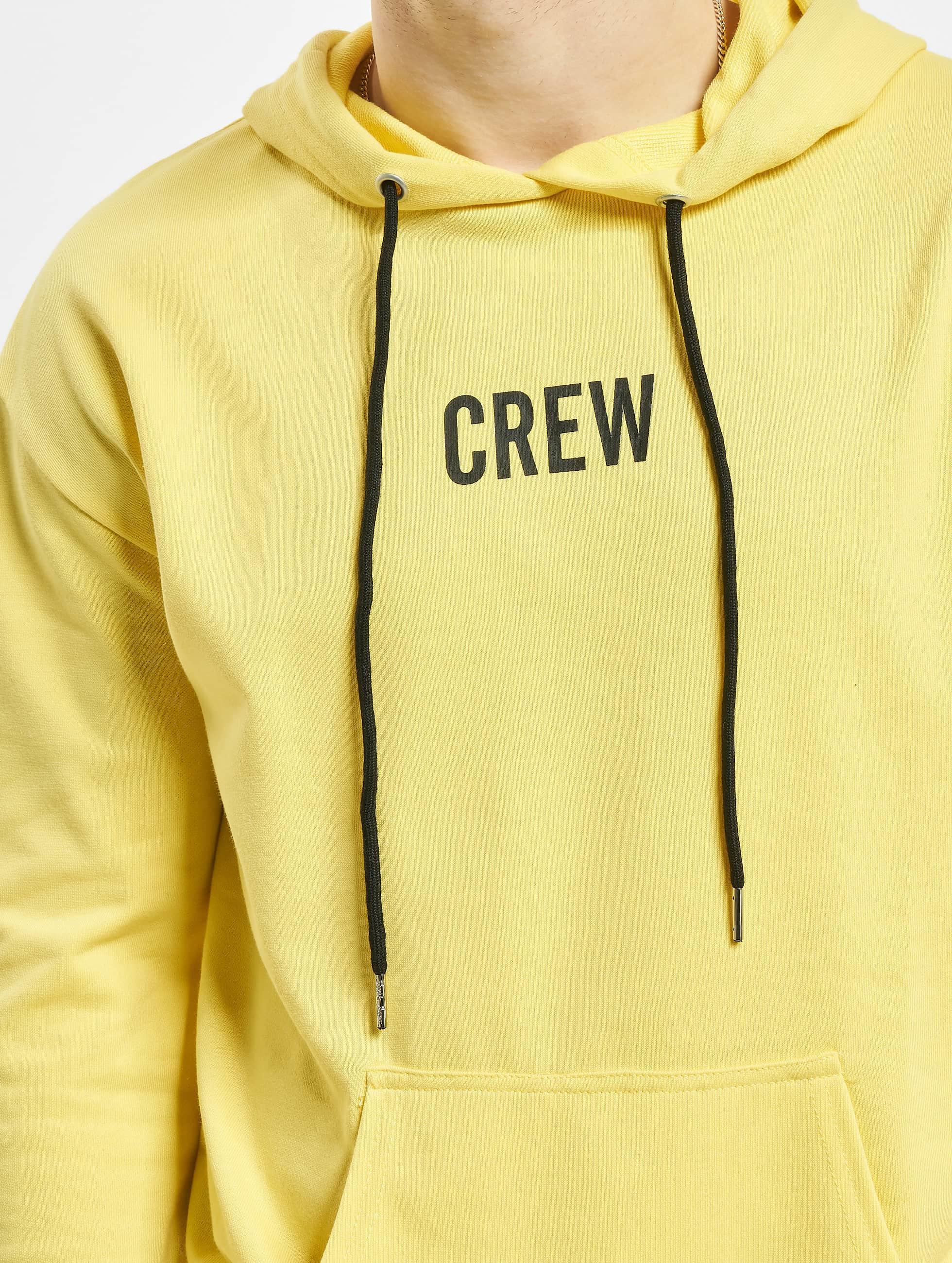 Sixth June Hoody Crew geel