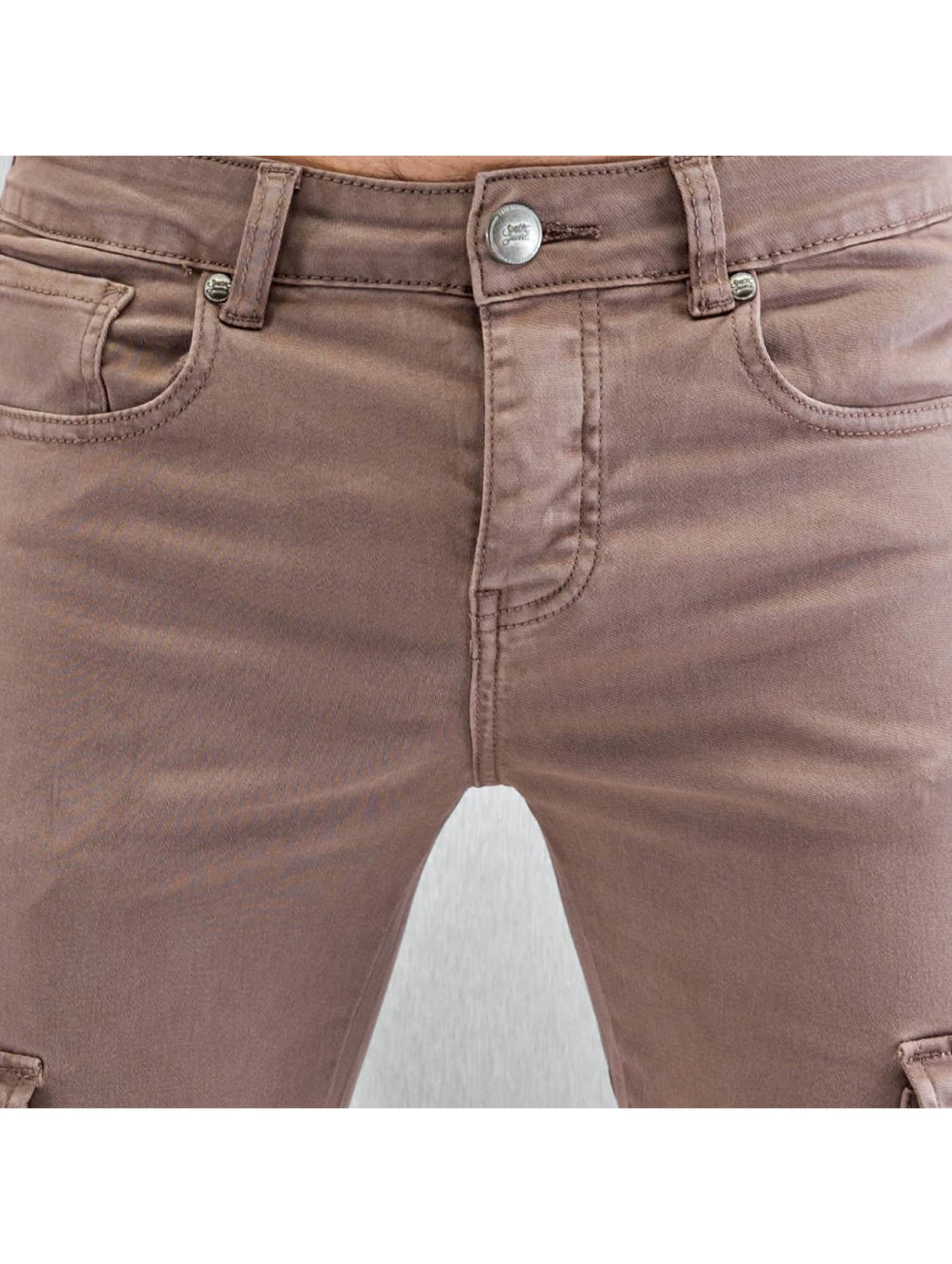 Sixth June Jean skinny Cargo beige