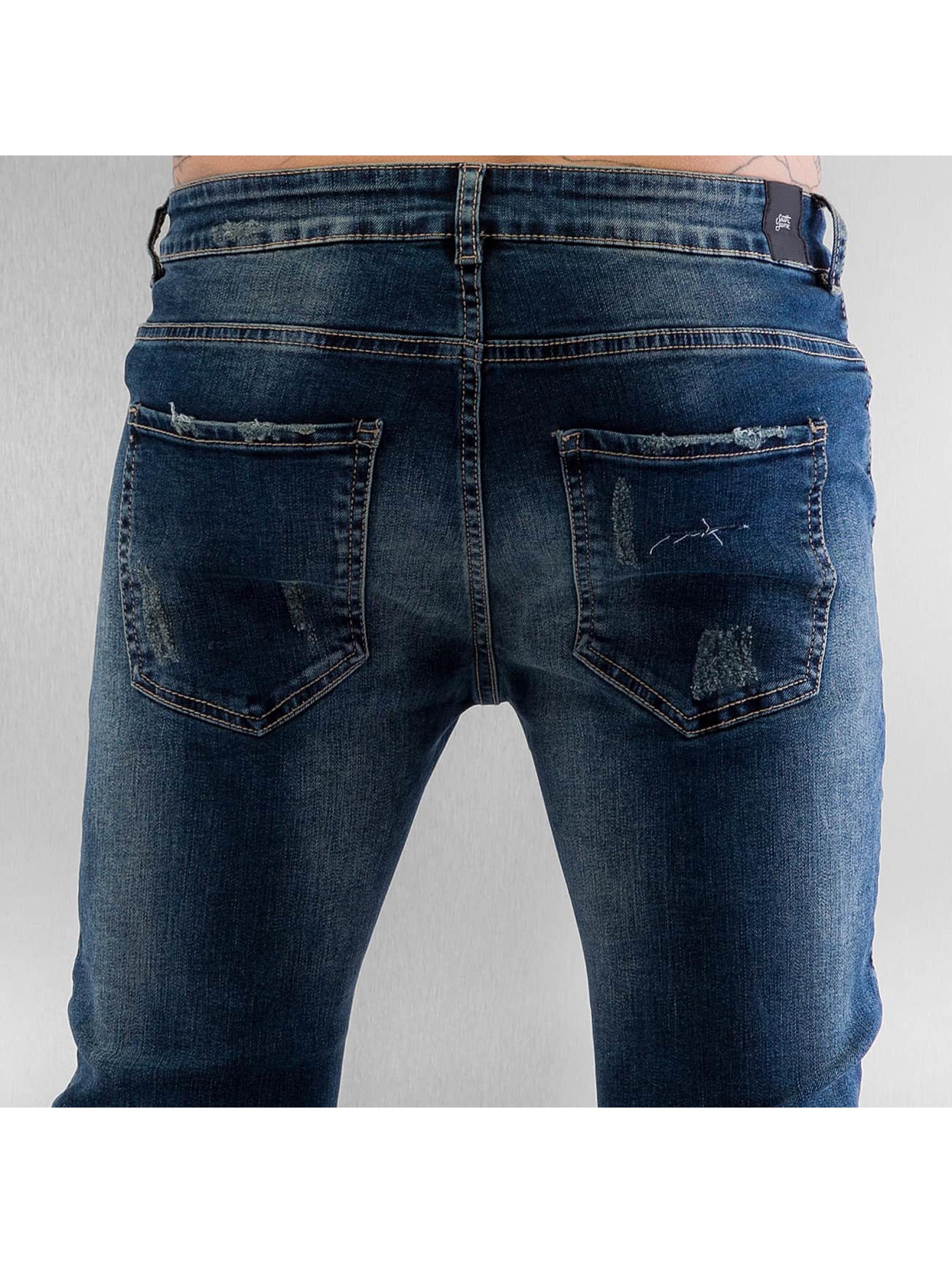 Sixth June Jean skinny Elasticated bleu
