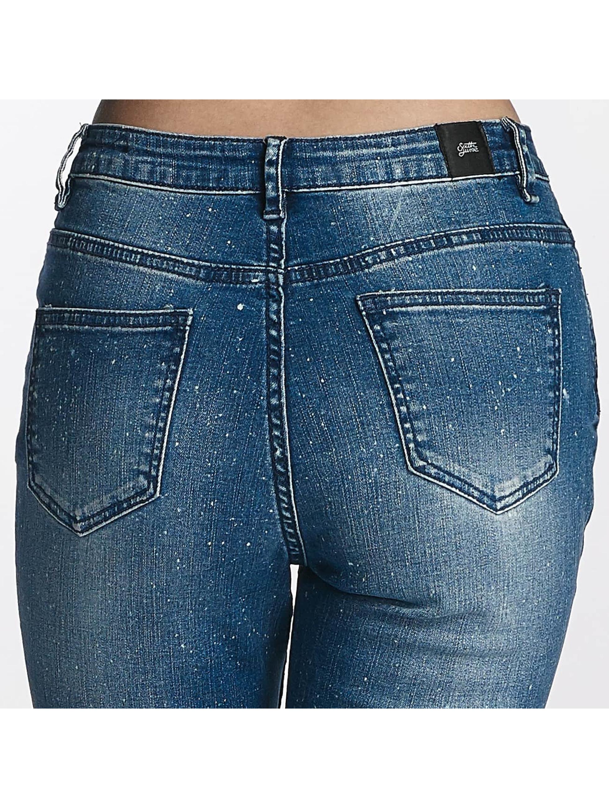 Sixth June Jean skinny Basic bleu