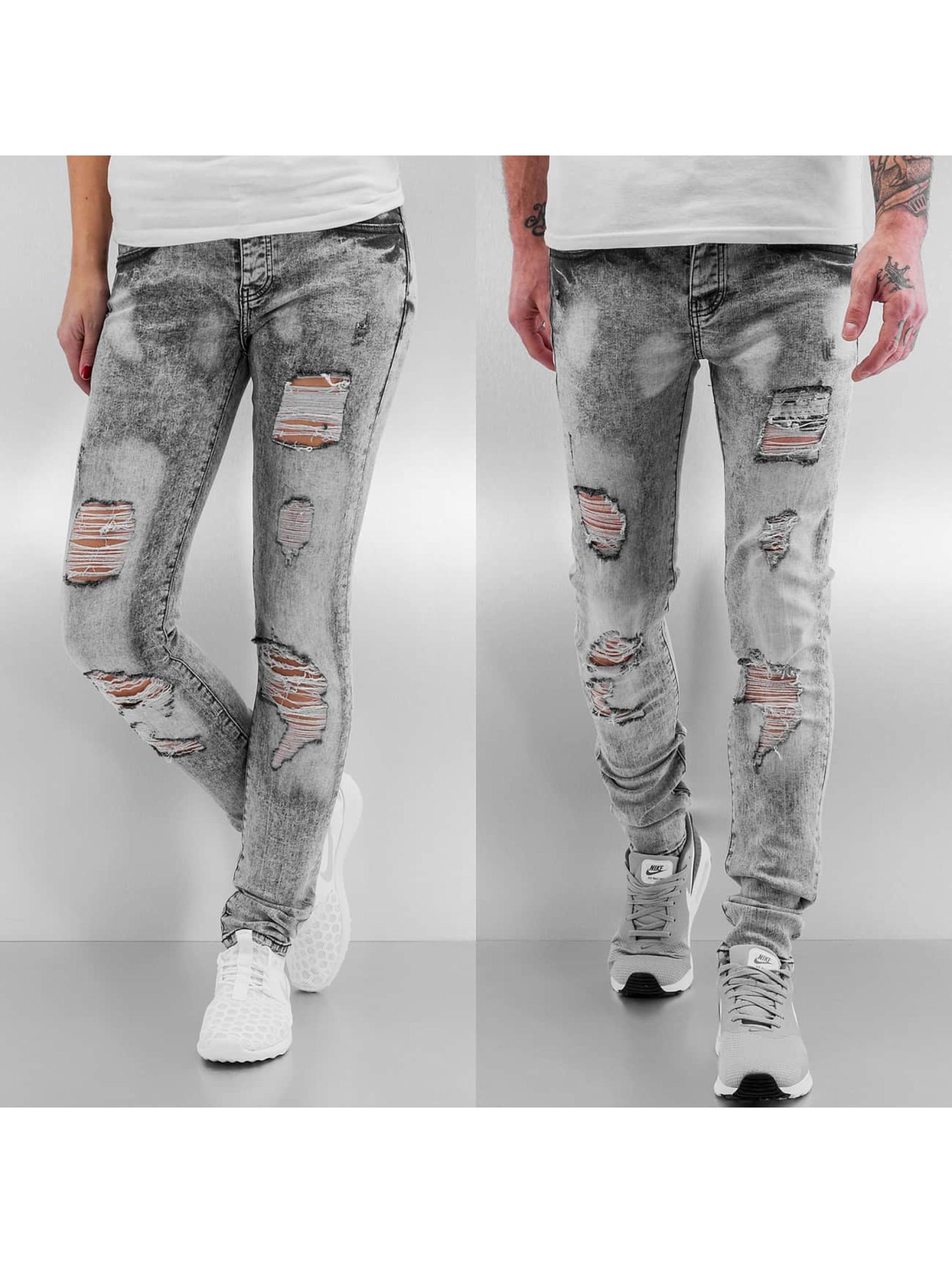 Sixth June Jean skinny Destroyed gris