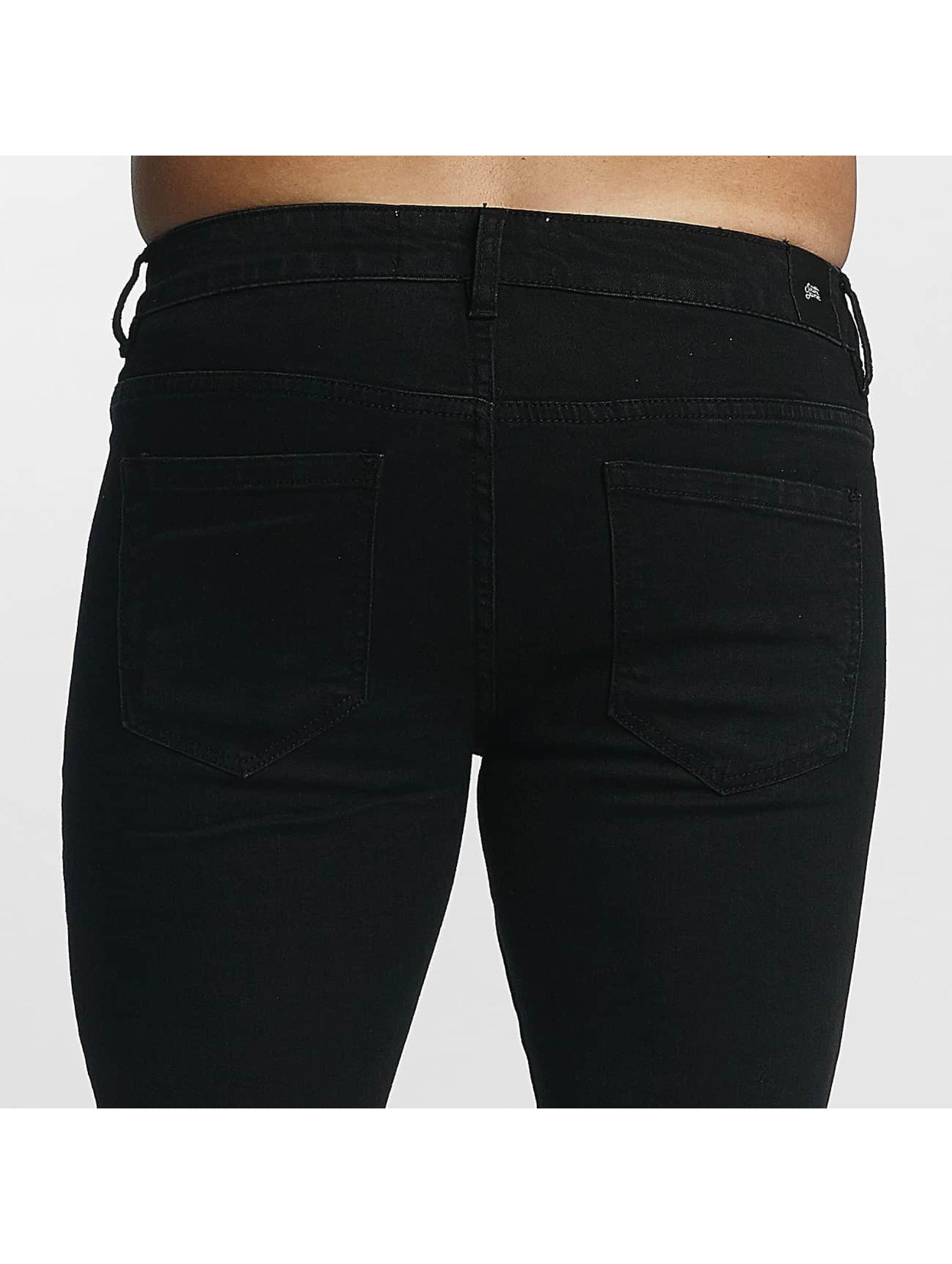Sixth June Jean slim basic Slimfit noir